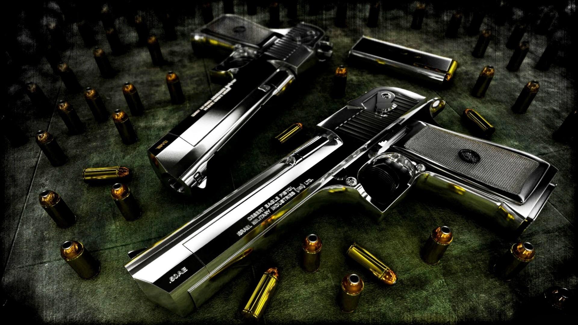 Duel Guns HD Wallpaper