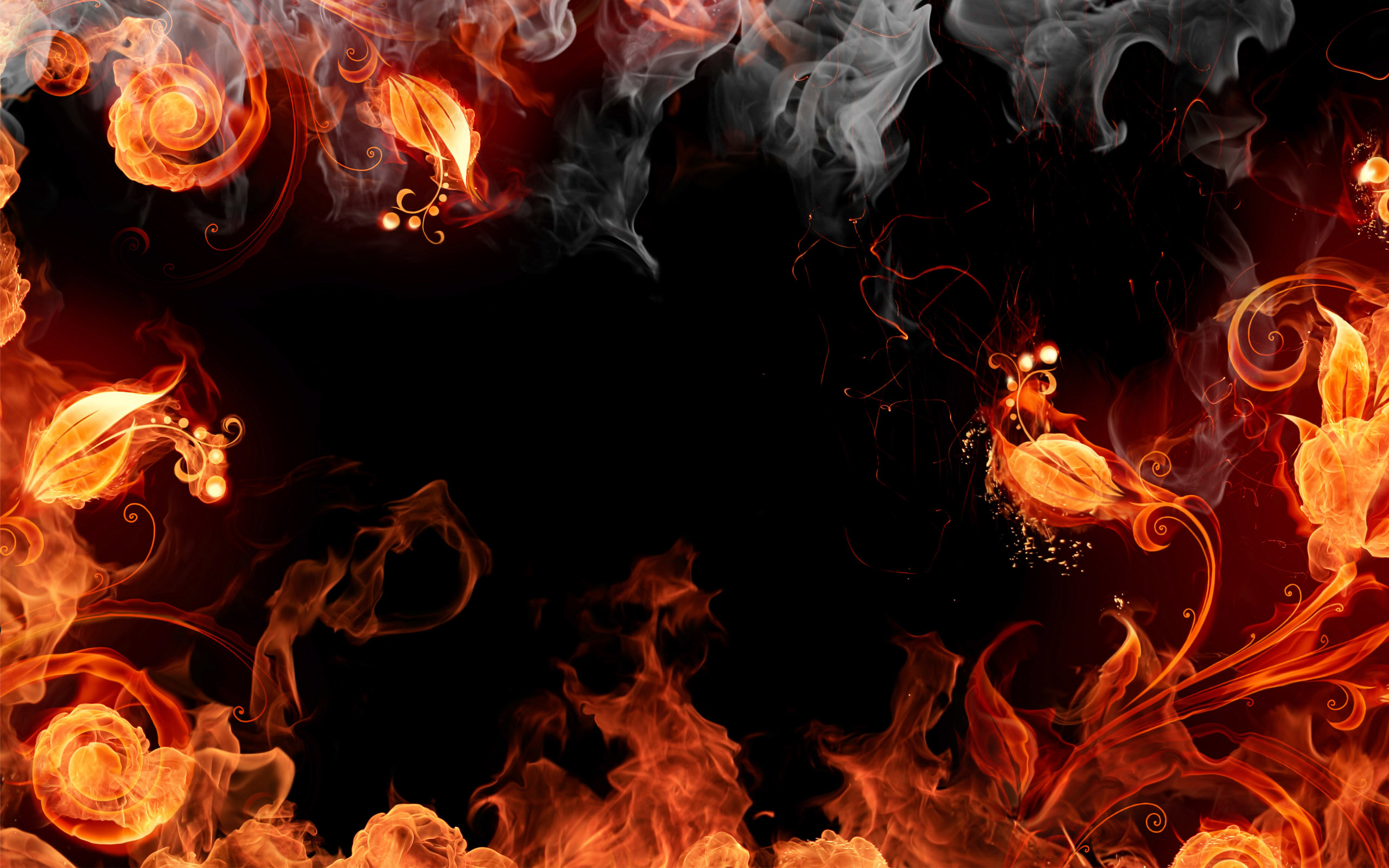 Fire Design HD Wide Wallpapers | HD Wallpapers