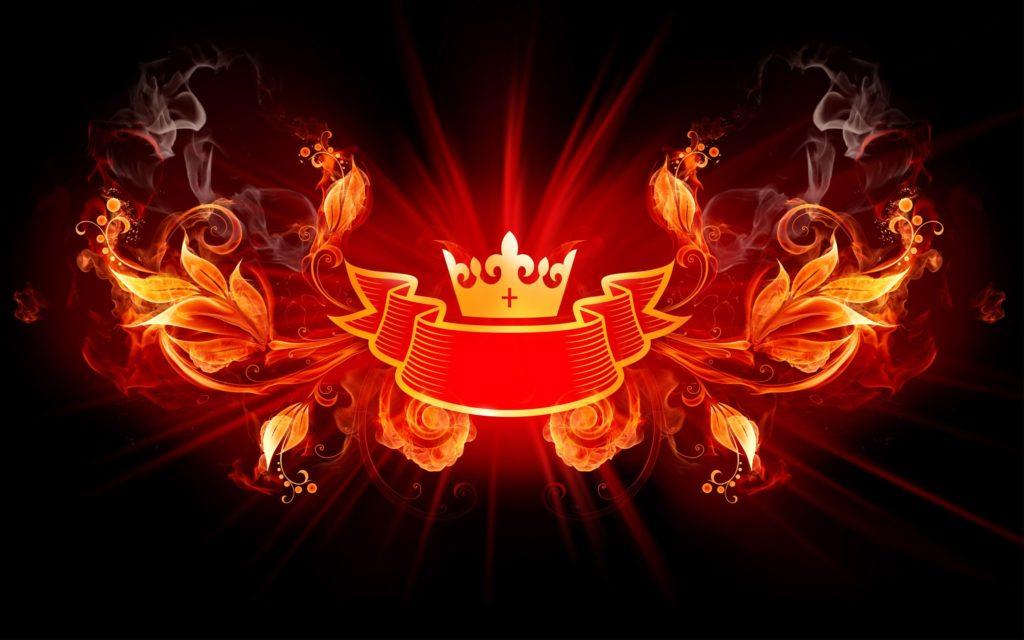 King of Fire Design HD Wide