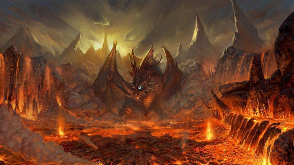 Dragon, Fantasy, Wallpaper, Fire, Wallpapers – 1910978