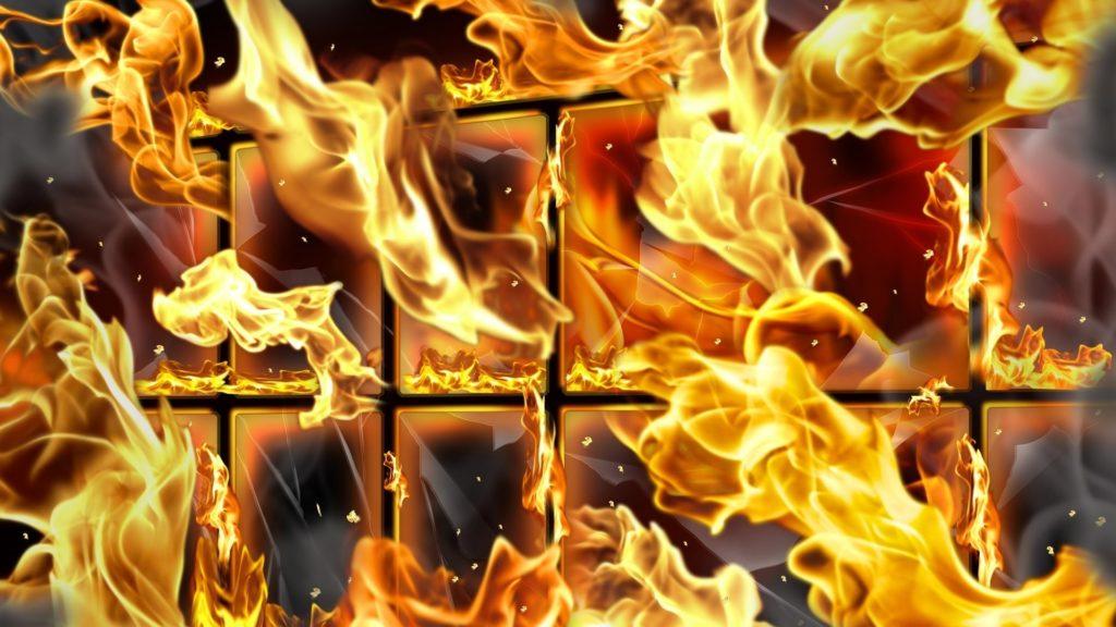 Screenshot of Fire Everywhere Animated Wallpaper 1.0 | Fire – Ogień |  Pinterest | Wallpaper and Skull wallpaper