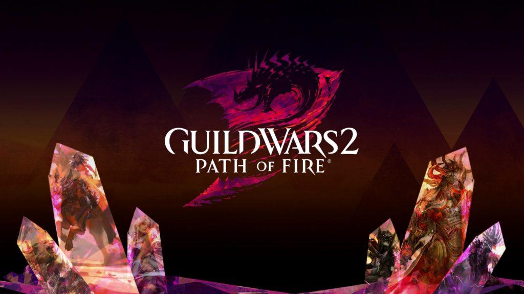Fan Guild Wars 2 Path of Fire Wallpaper by /u/eq_zanzoken
