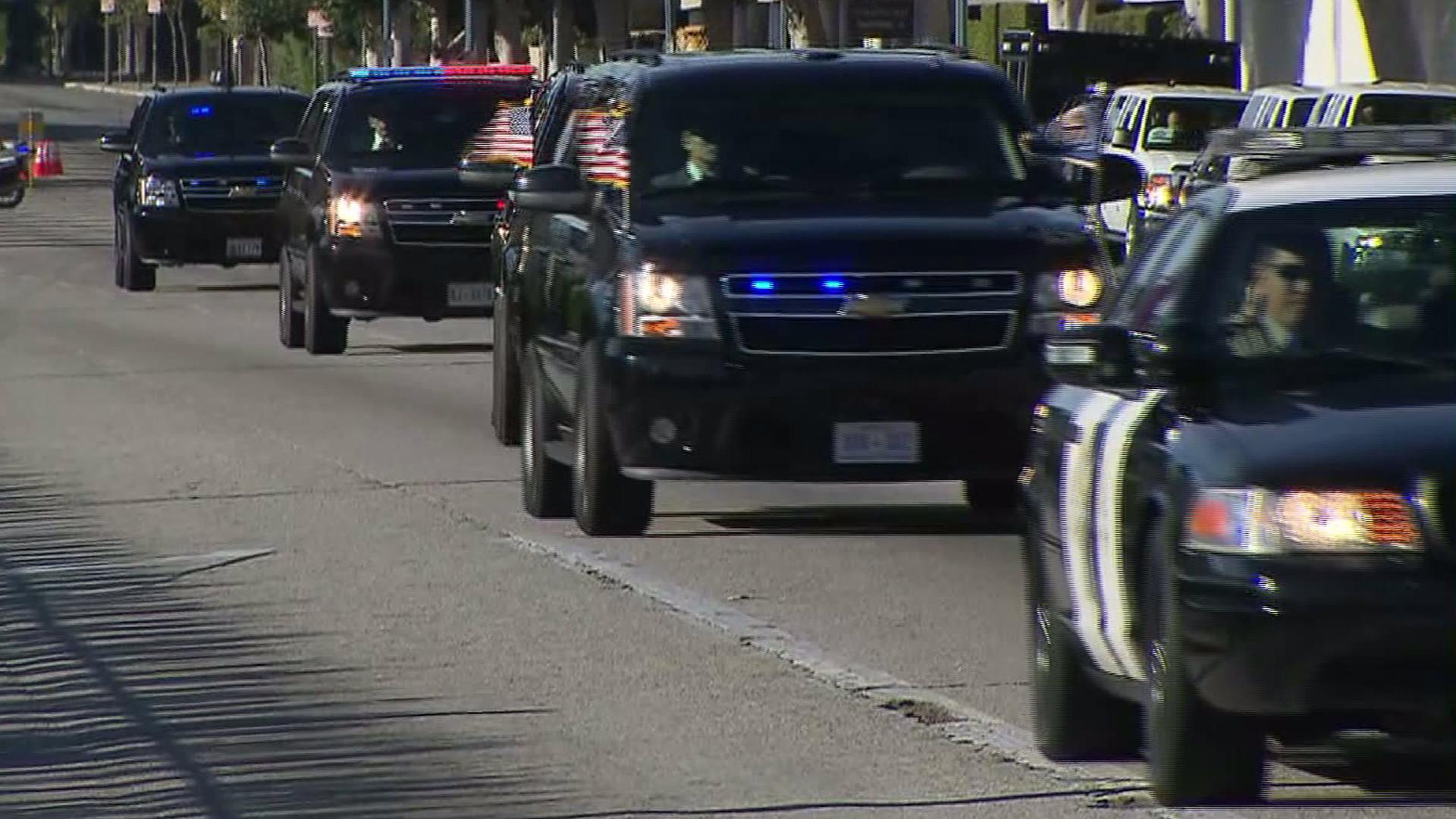 presidential motorcade | Presidential Motorcade The presidential motorcade