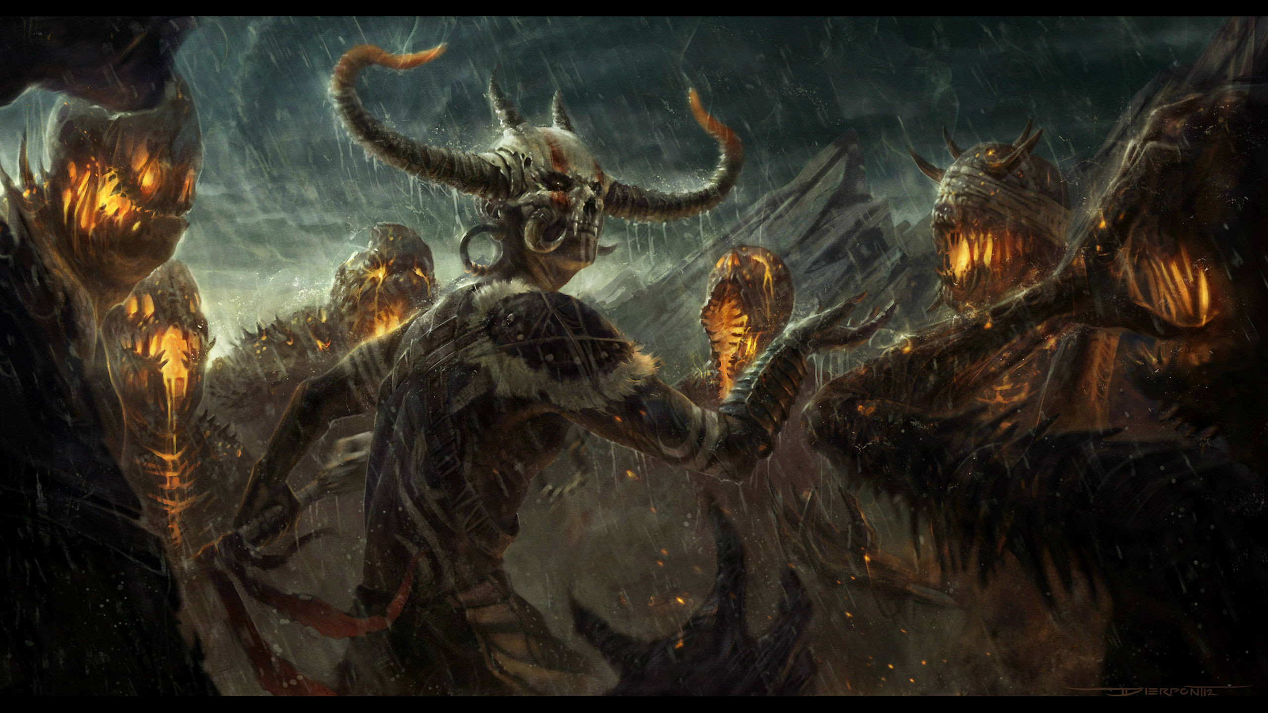 Demonic Summoner HD Wallpaper From Gallsource.com