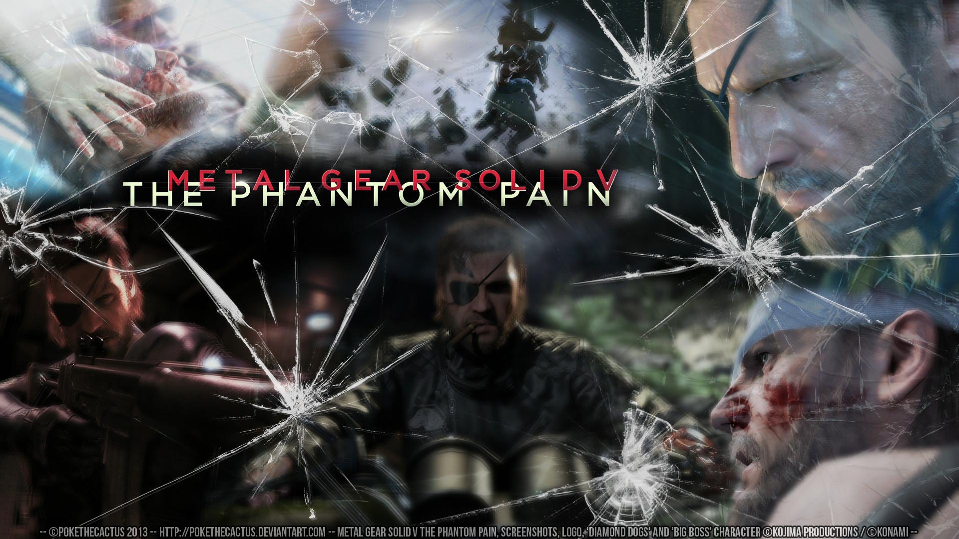the phantom pain wallpaper by pokethecactus customization wallpaper .