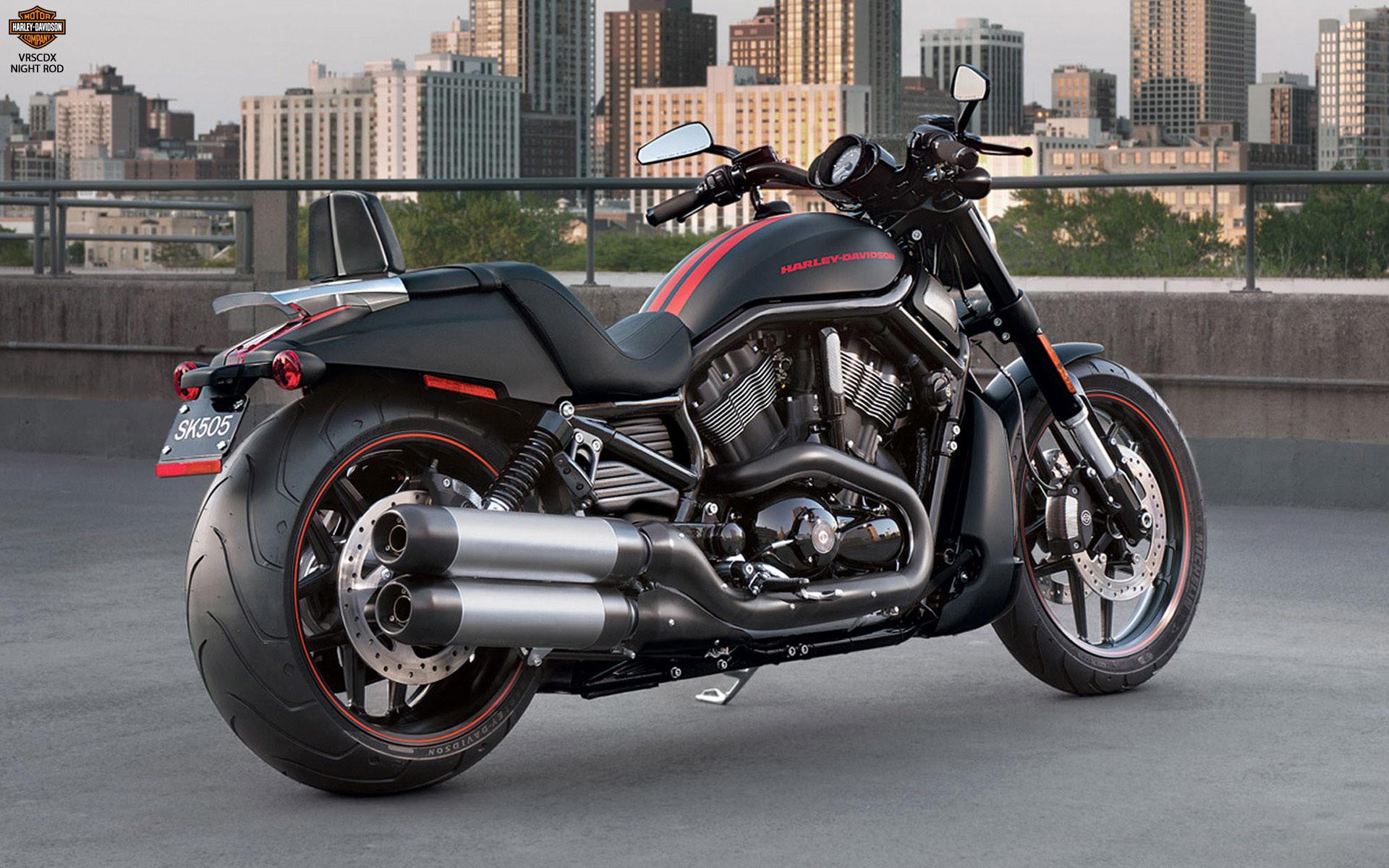 Harley Davidson VRSCDX Night Rod PC Wallpaper