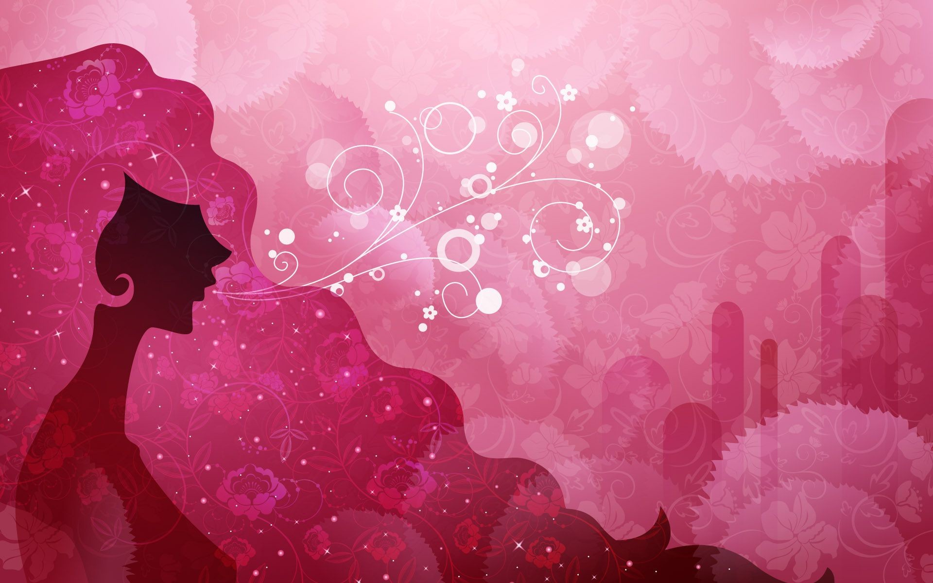 Pink Backgrounds For Girls 1920×1200 #124069 HD Wallpaper Res .