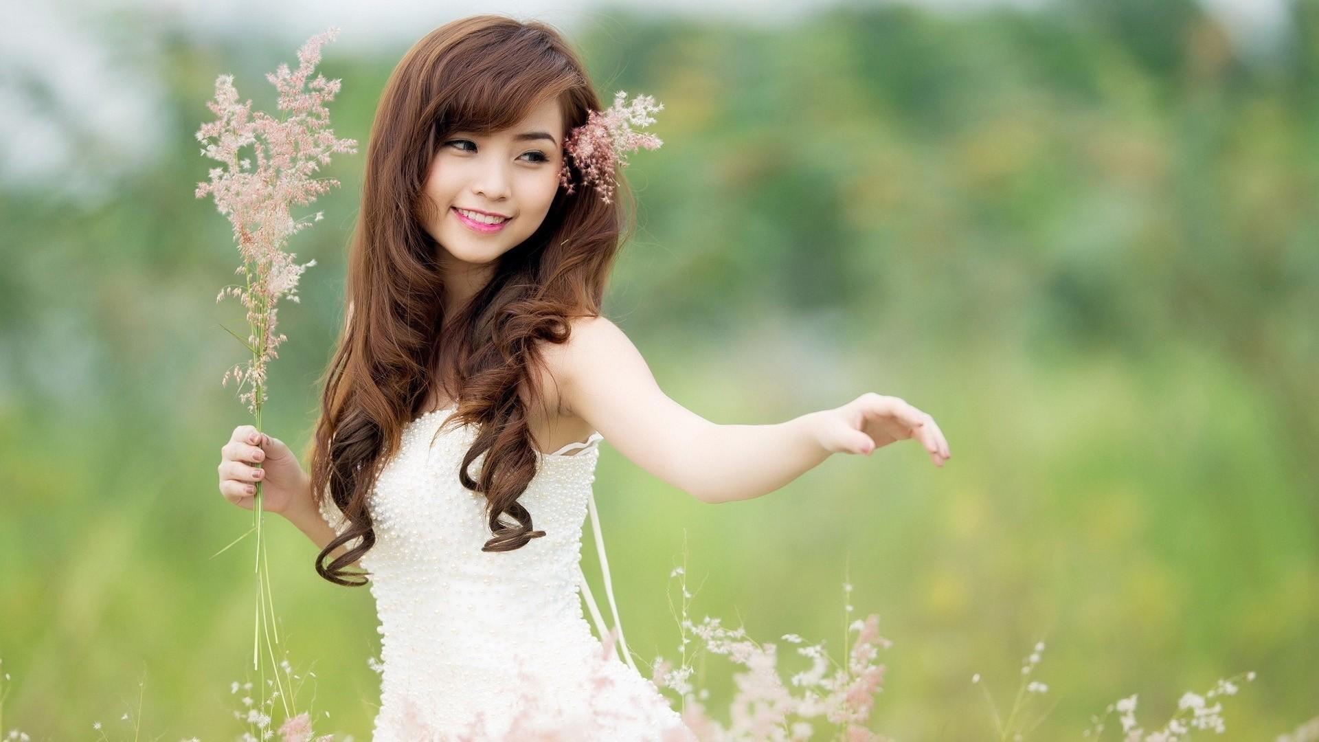 Cute Asian Girls Dancing HD Wallpaper