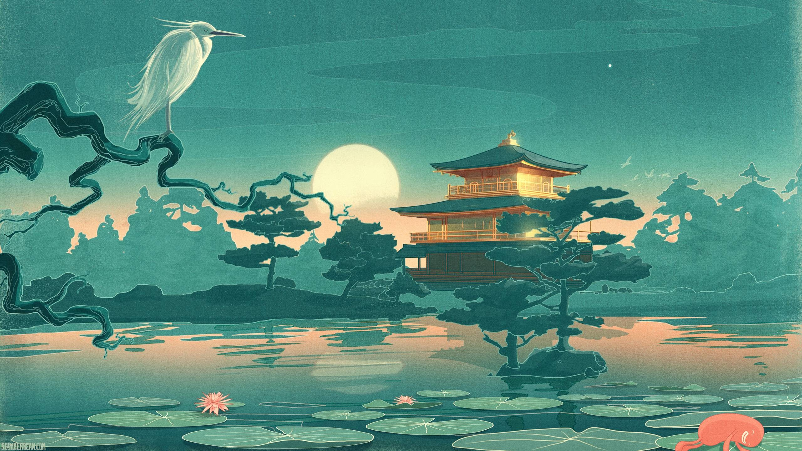 Wallpapers For > Japanese Art Background