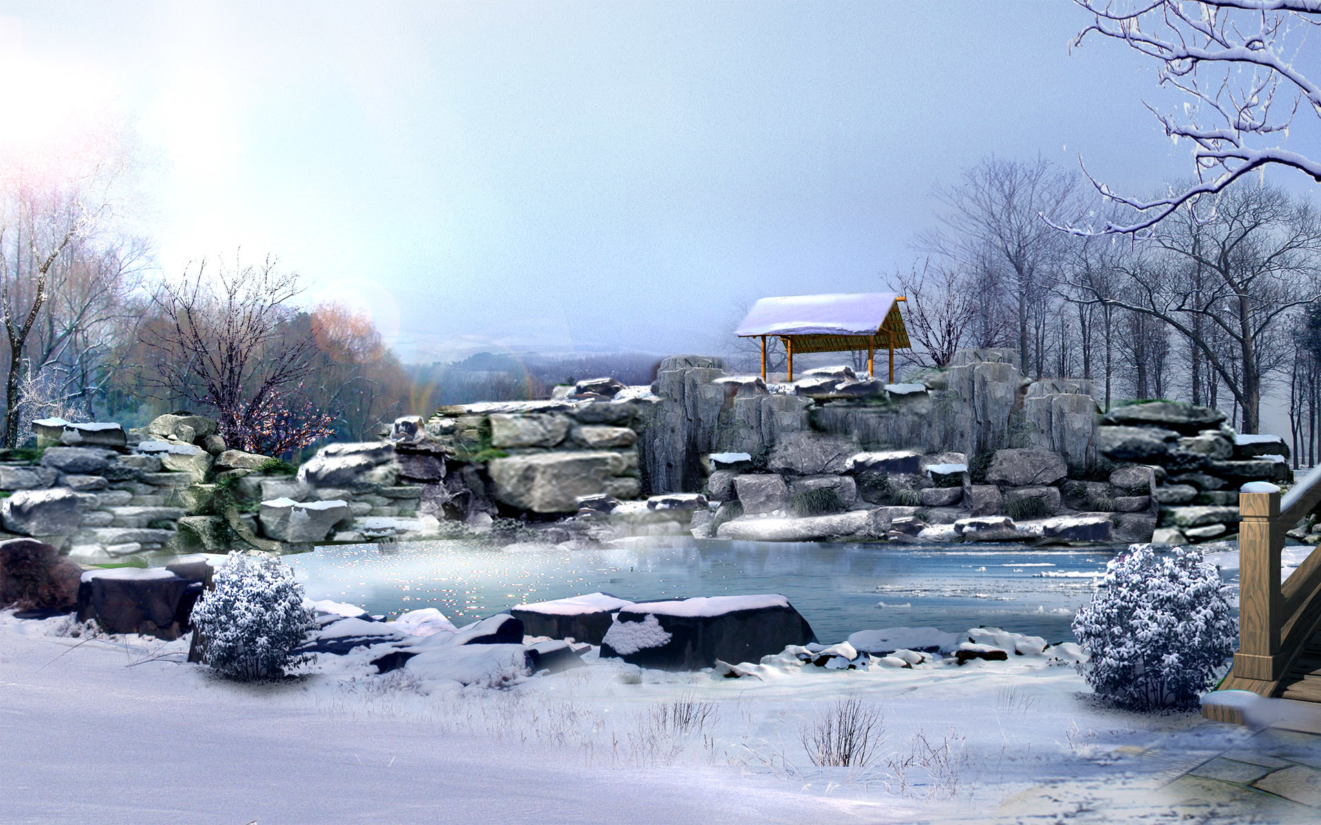 Japan China Digital Landscape 9 – Japan Photography Desktop Wallpapers .