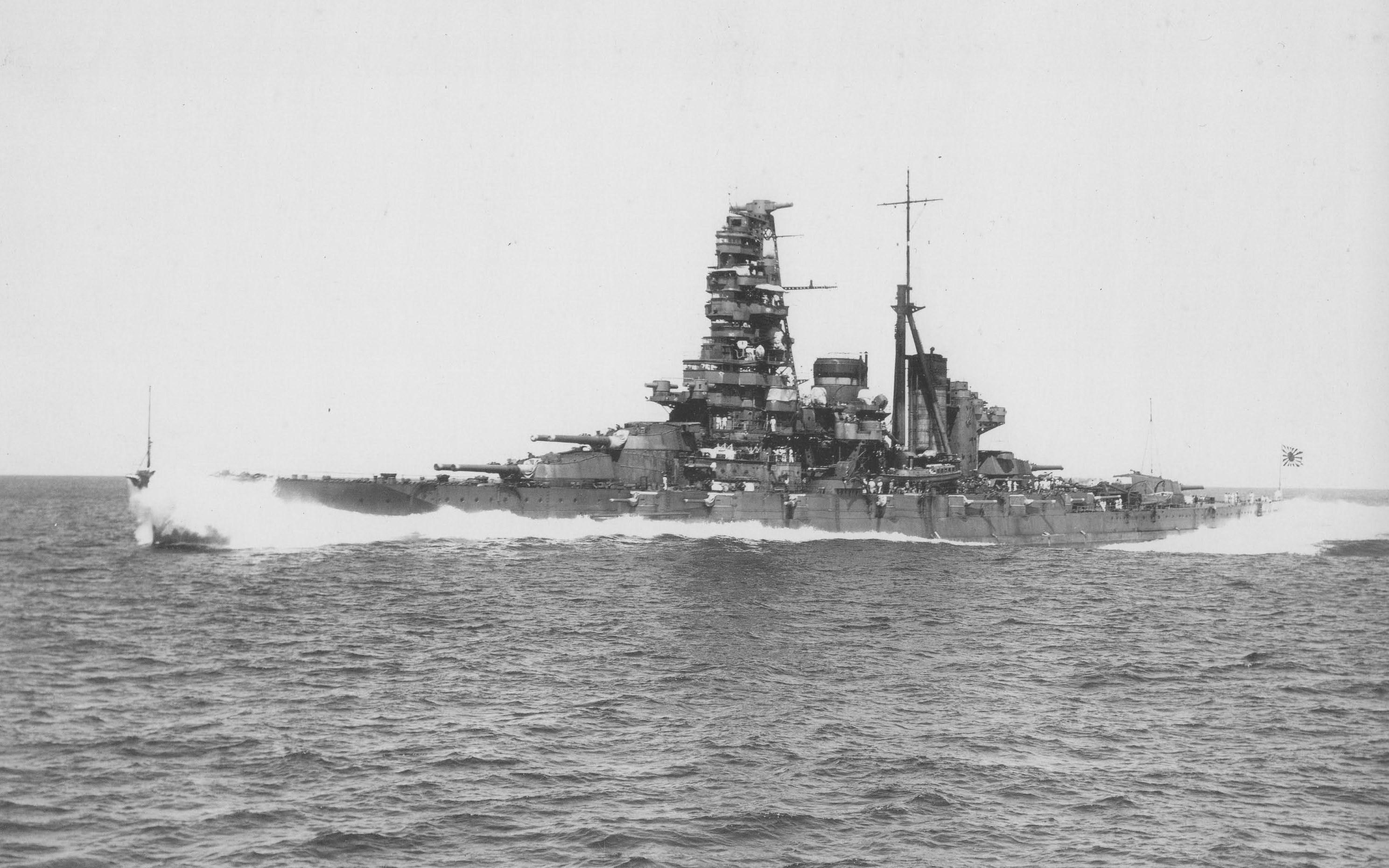 free wallpaper and screensavers for japanese battleship haruna