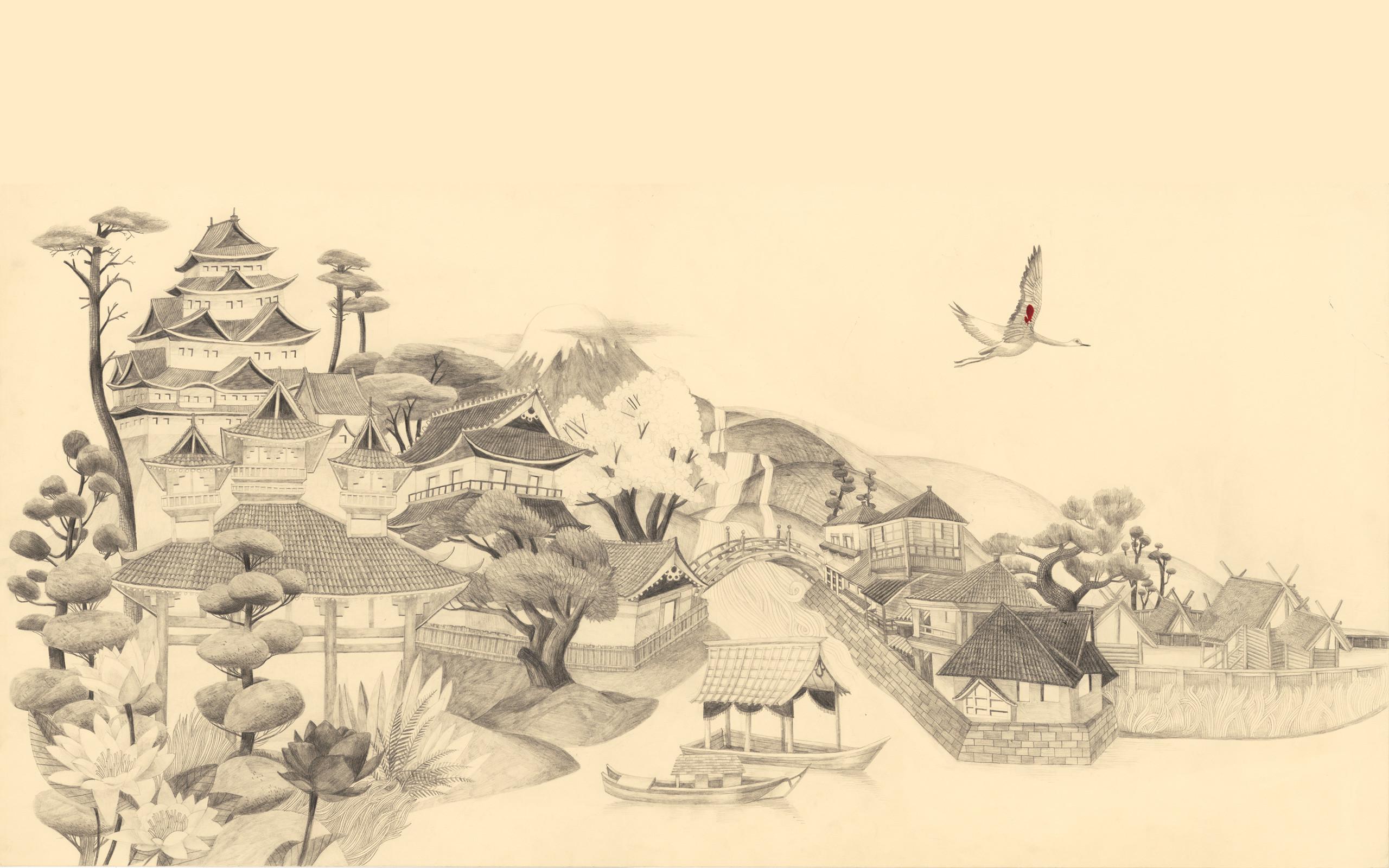 Japanese Art Wallpapers, 2560×1600