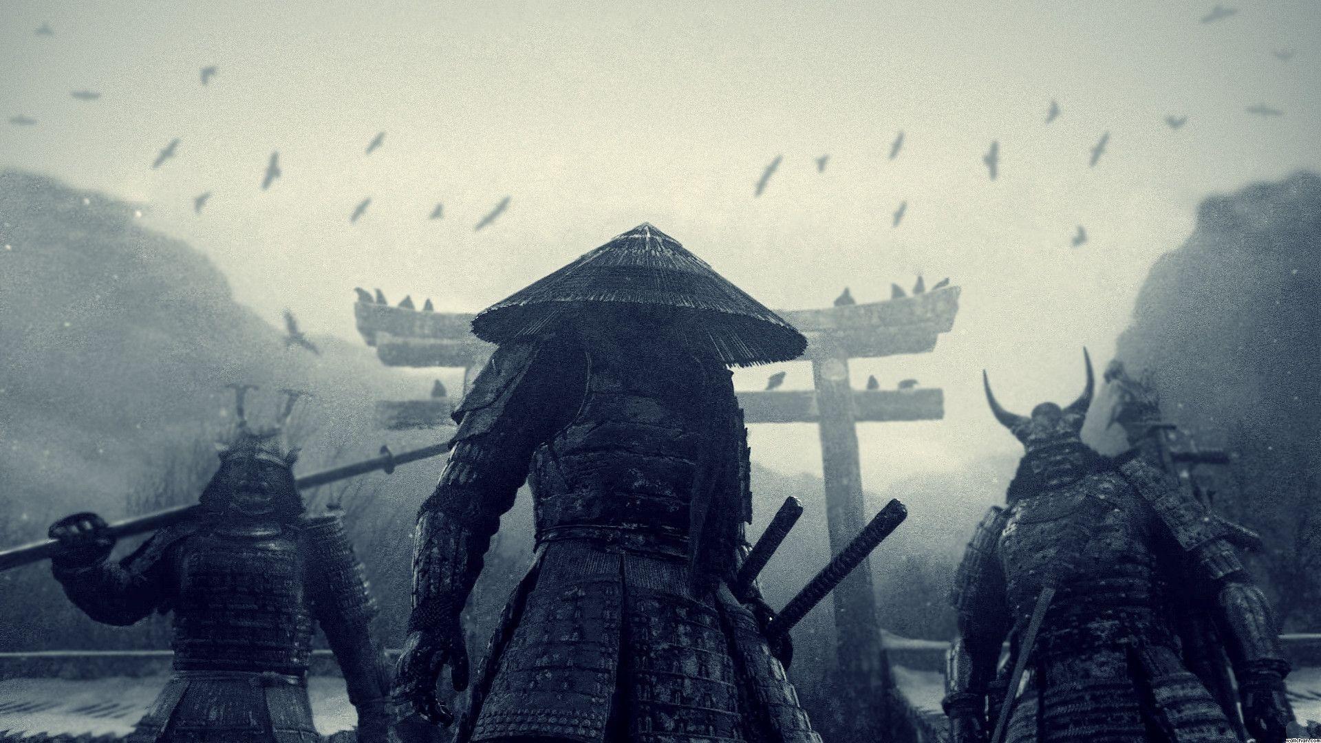 Japanese Samurai Art Wallpapers