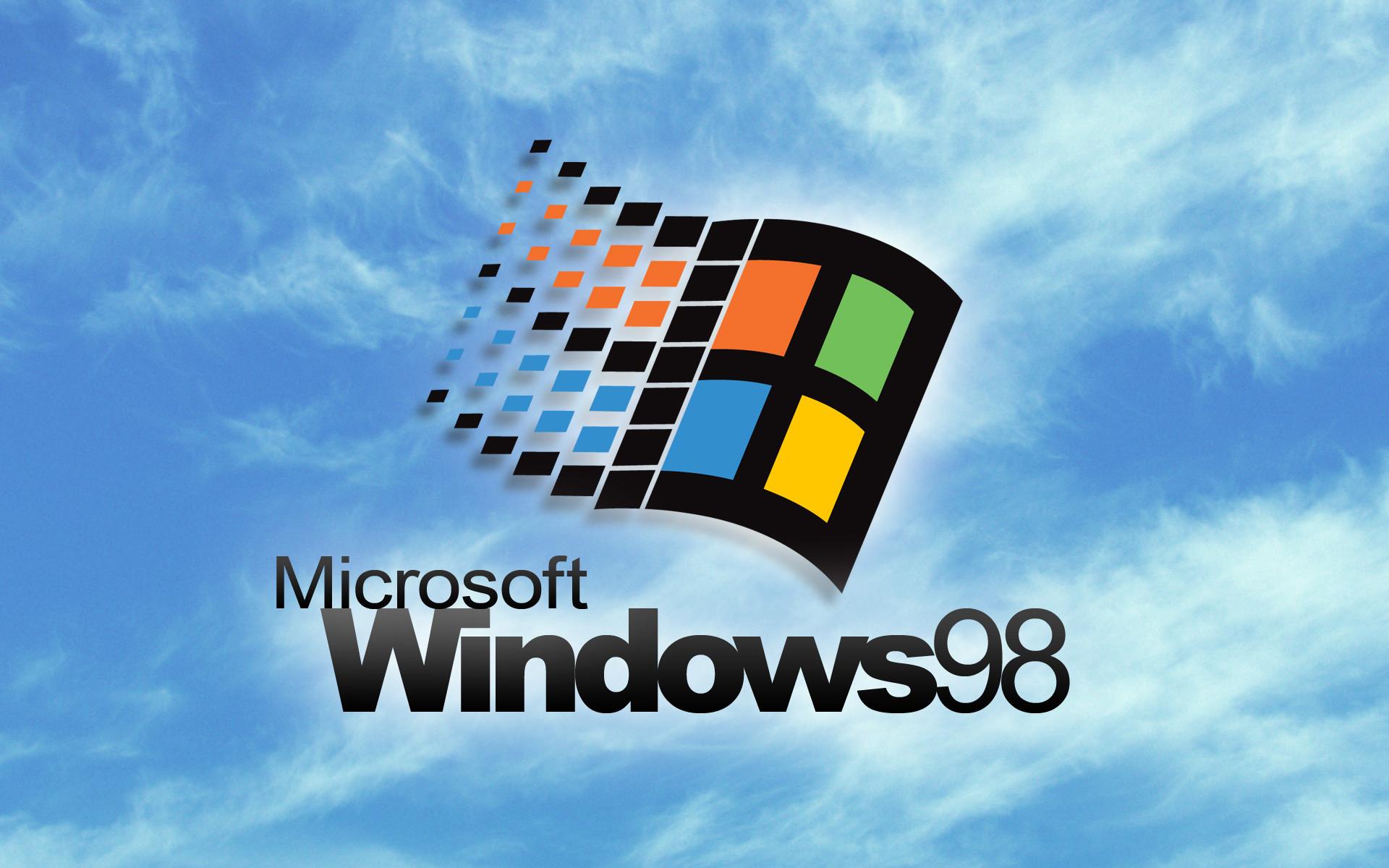 Windows `98 loading screen wallpaper: …