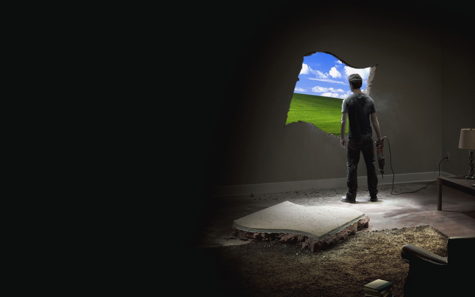 "Windows: Custom ""Life Without Walls"" wallpaper …"