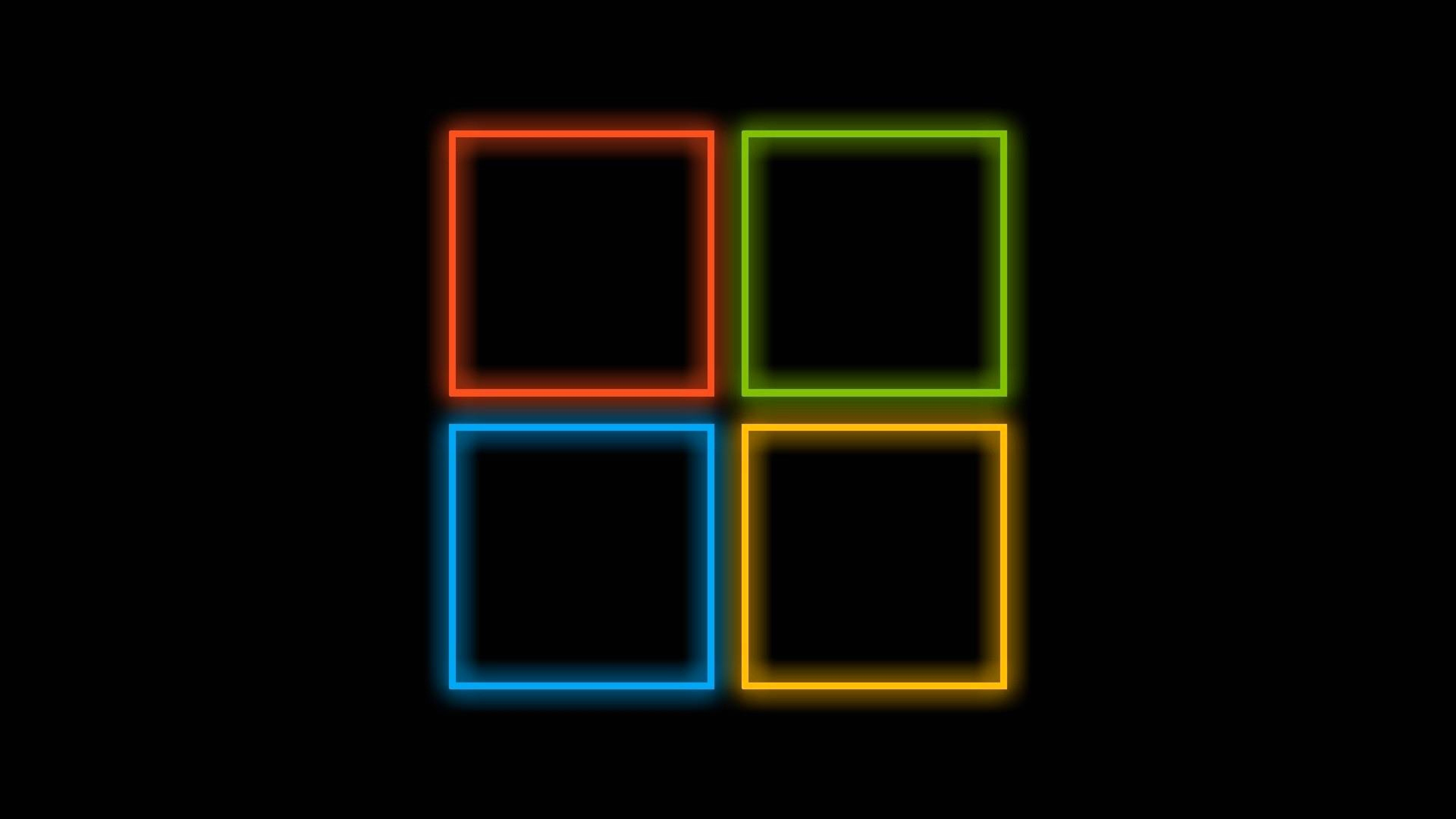 Preview wallpaper windows 10, operating system, minimalism 3840×2160
