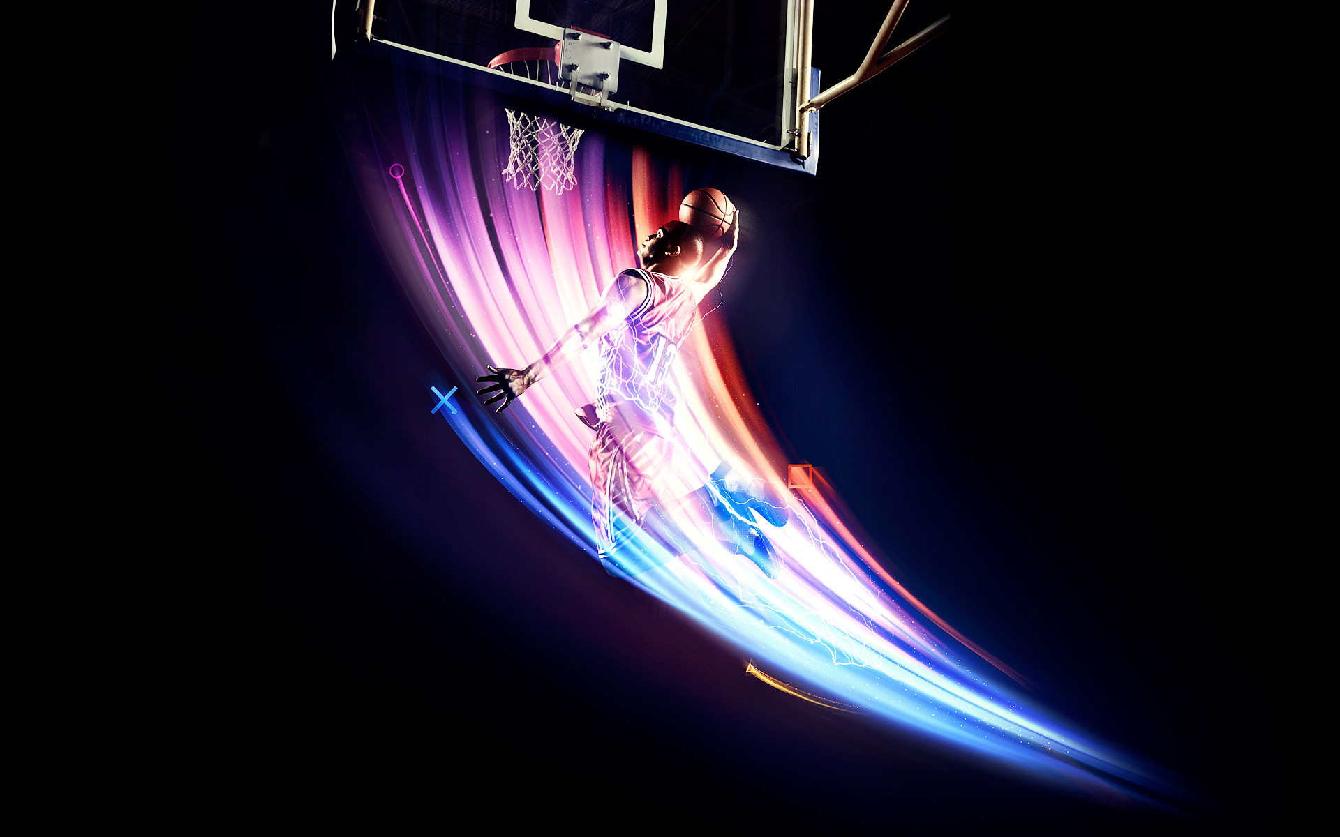 cool Basketball Court Desktop Picture