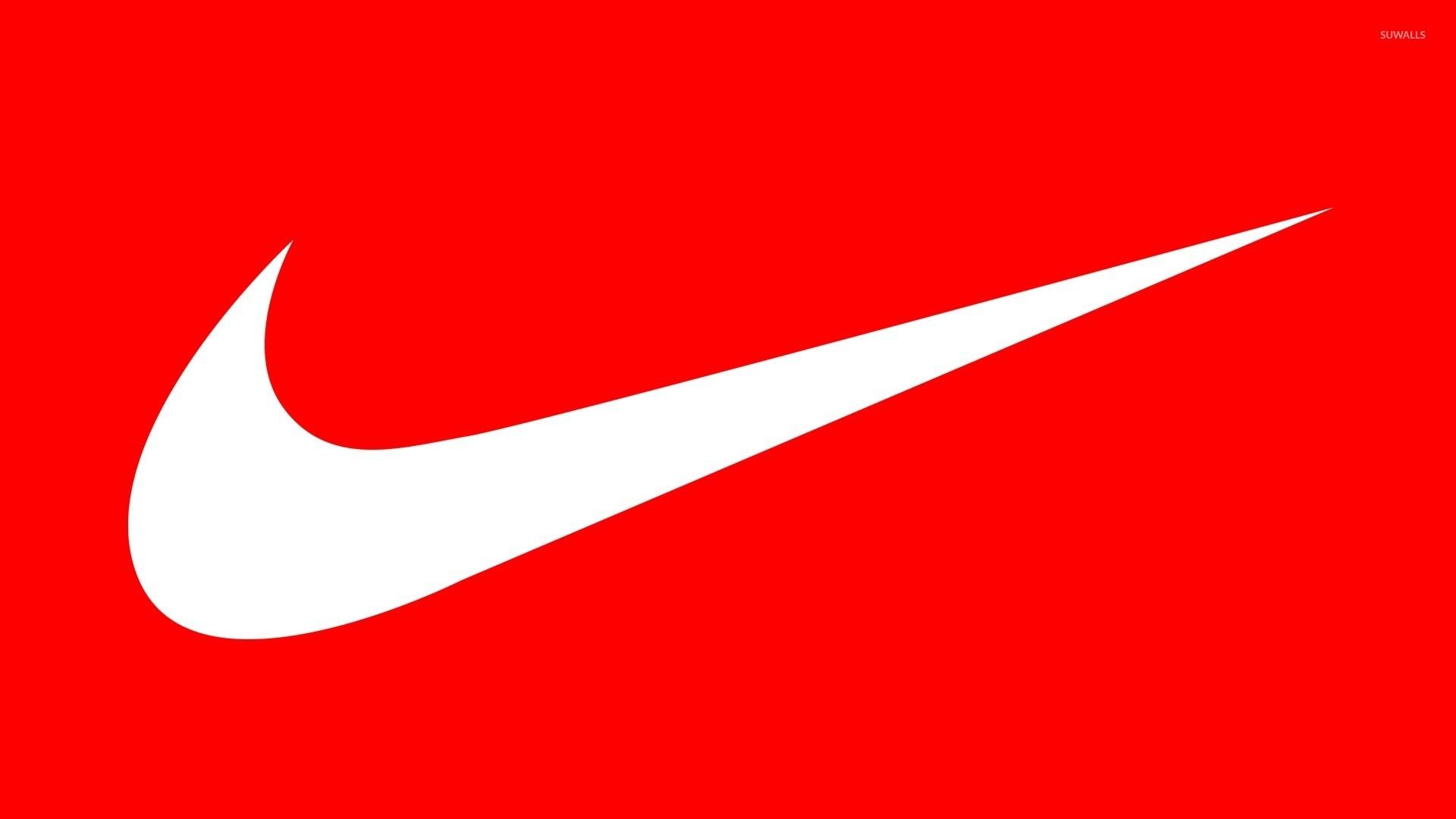 White Nike Logo wallpaper – Digital Art wallpapers – #49027