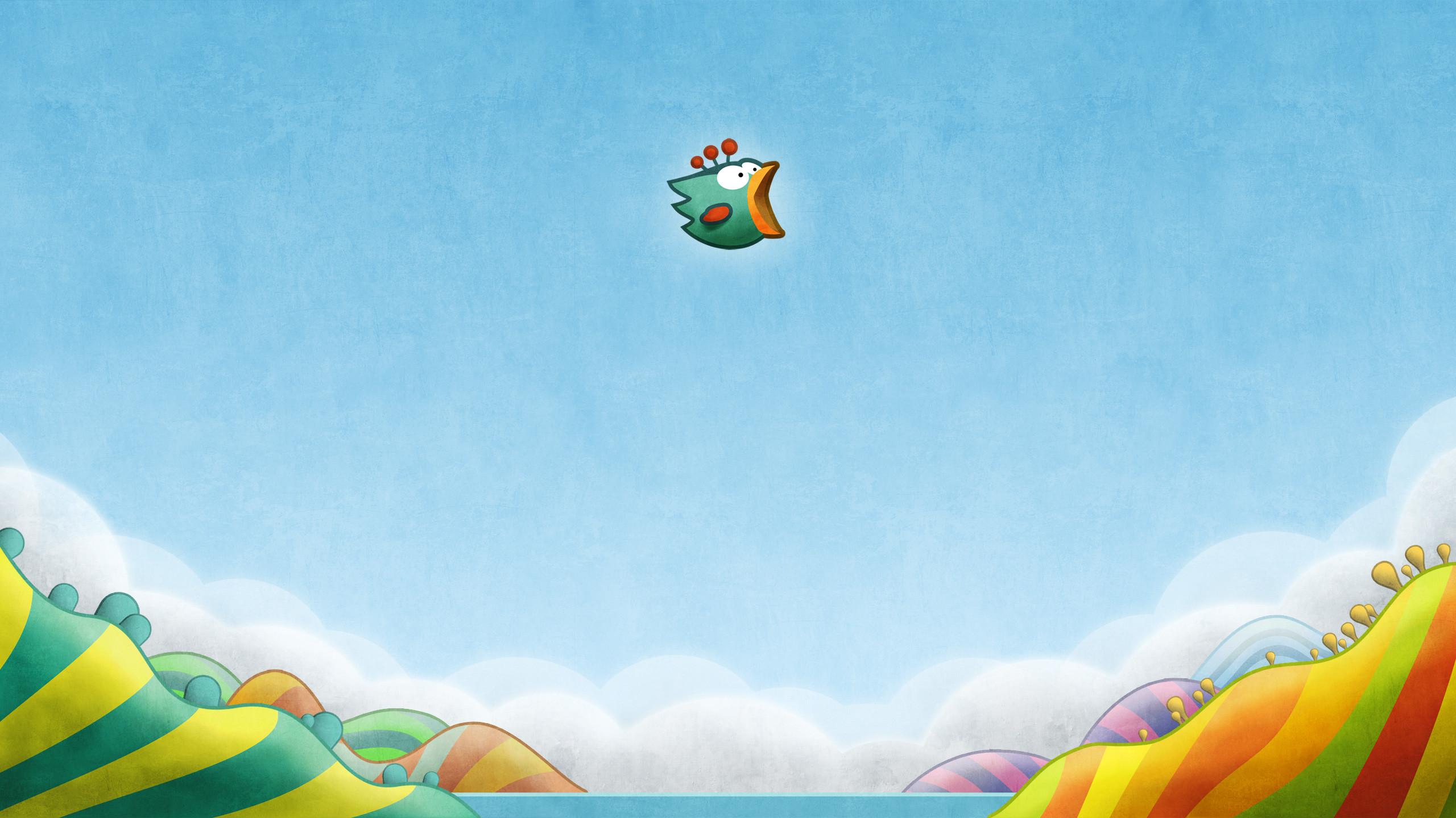 Tiny Wings Desktop Wallpaper 2560 x 1440