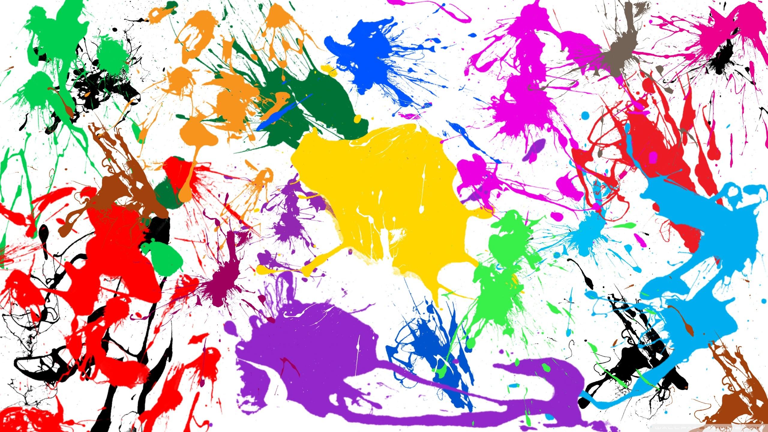 Paint Splatter. 2560×1440