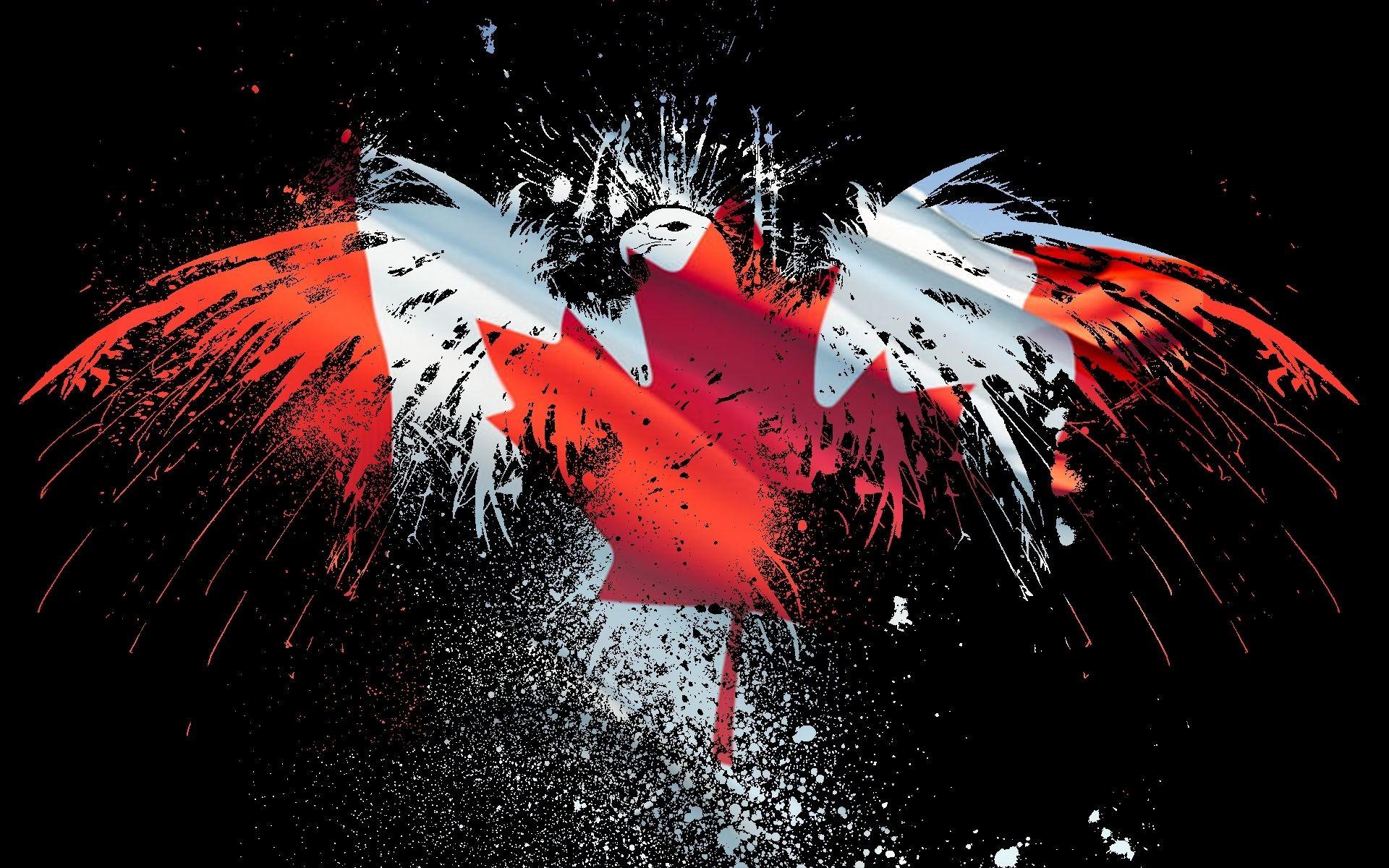 Desktop hd american flag eagle wallpaper