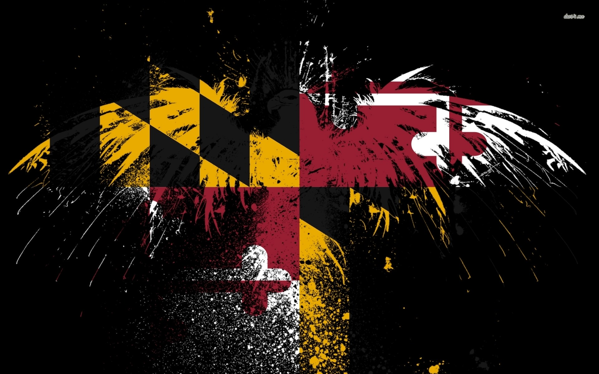 Flag of Maryland wallpaper – Artistic wallpapers – #40448
