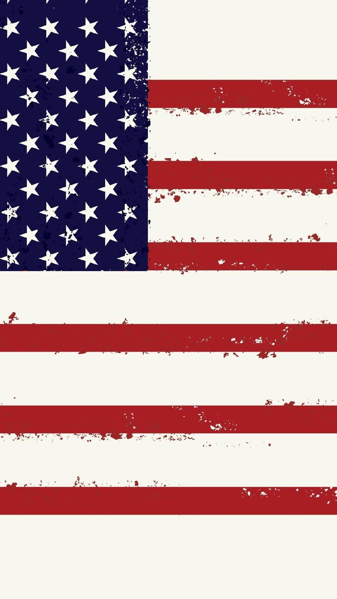 Shelves American Flag Colorful USA America Stripes