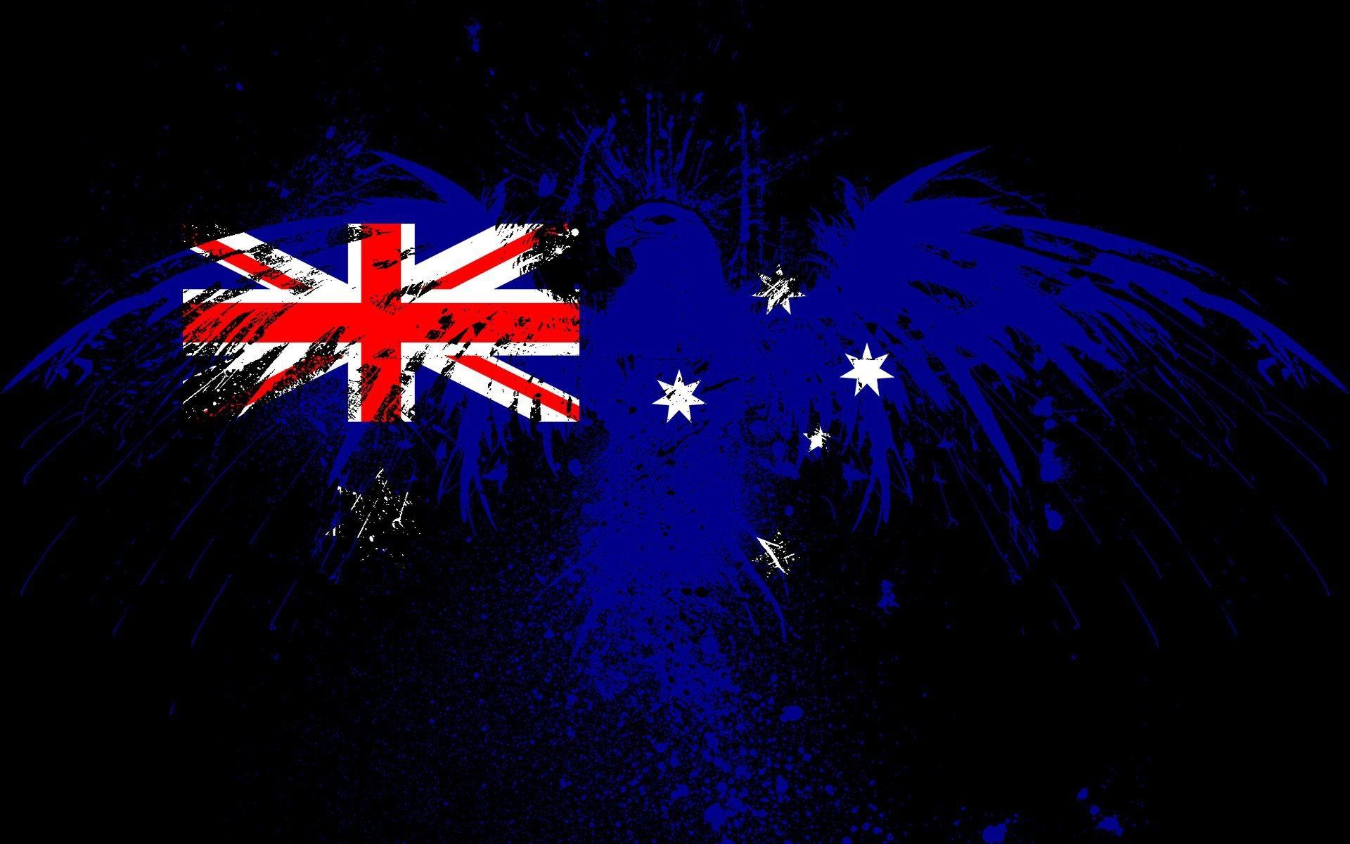 australia flag wallpaper 009