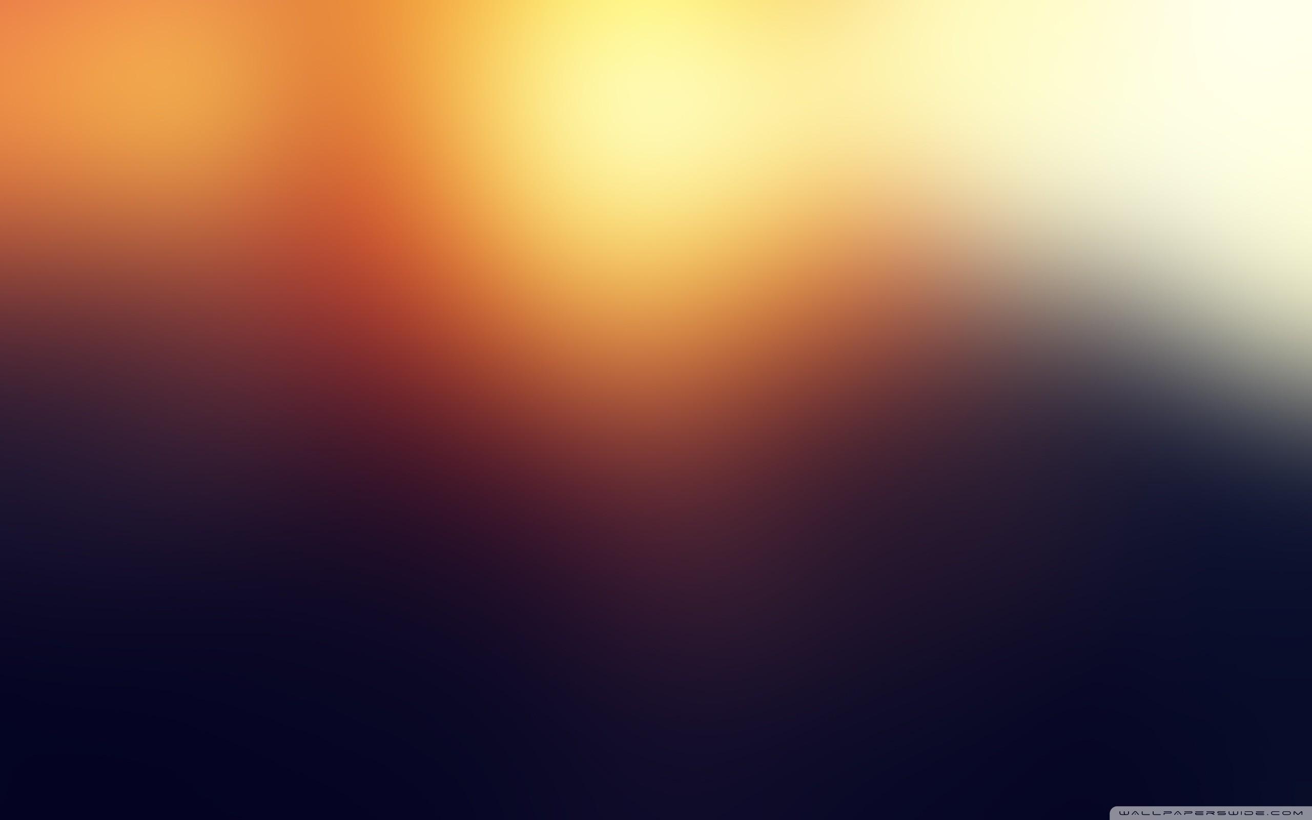 Blurry. 2560×1600. Blue Bokeh Wallpaper