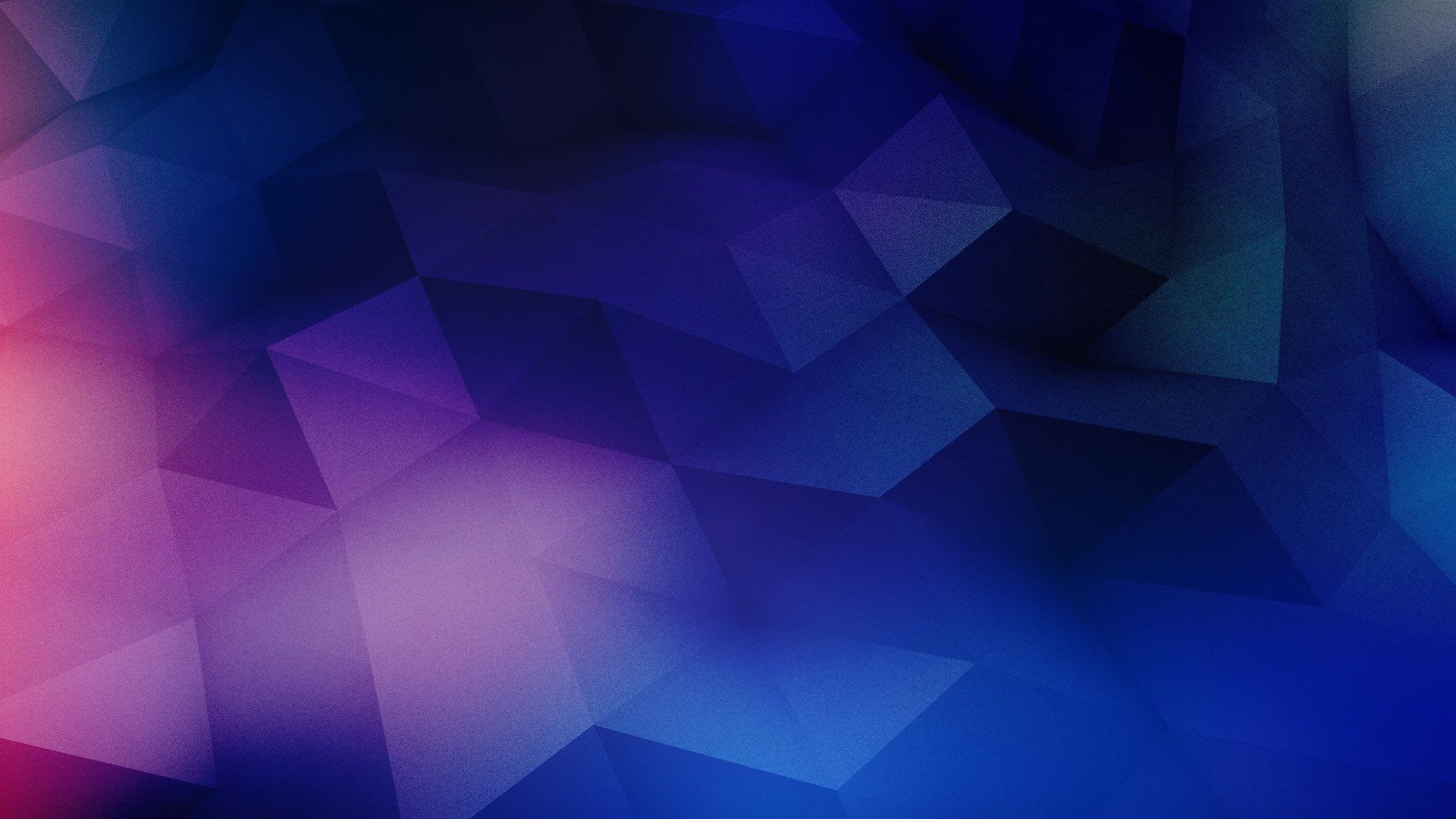 Blue & Purple Geometric Shapes