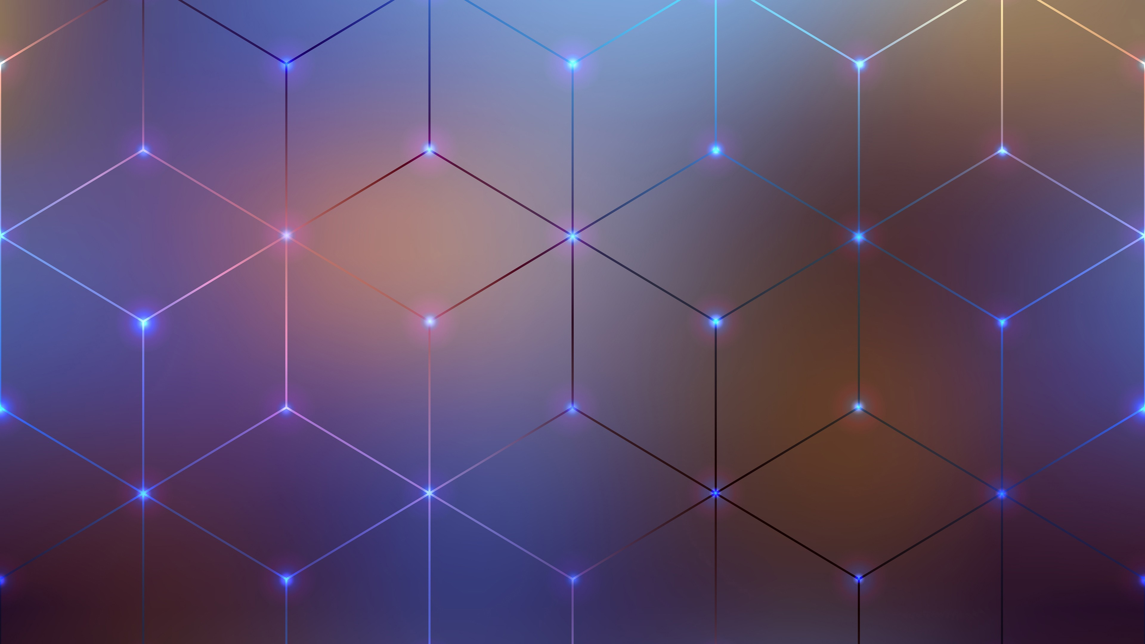 Abstract pattern of geometric shapes 3 d graphics