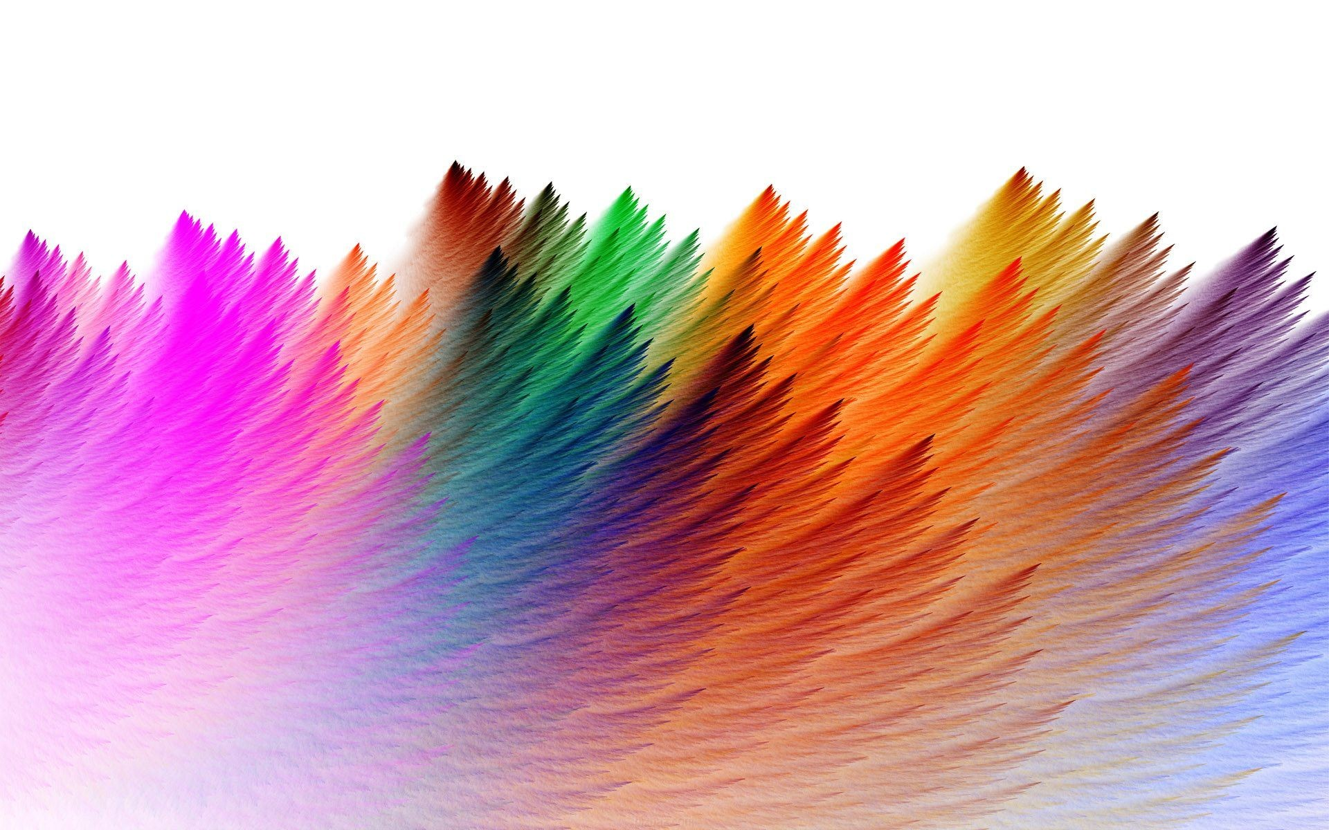 Free Wallpaper Background with Colorful Abstract