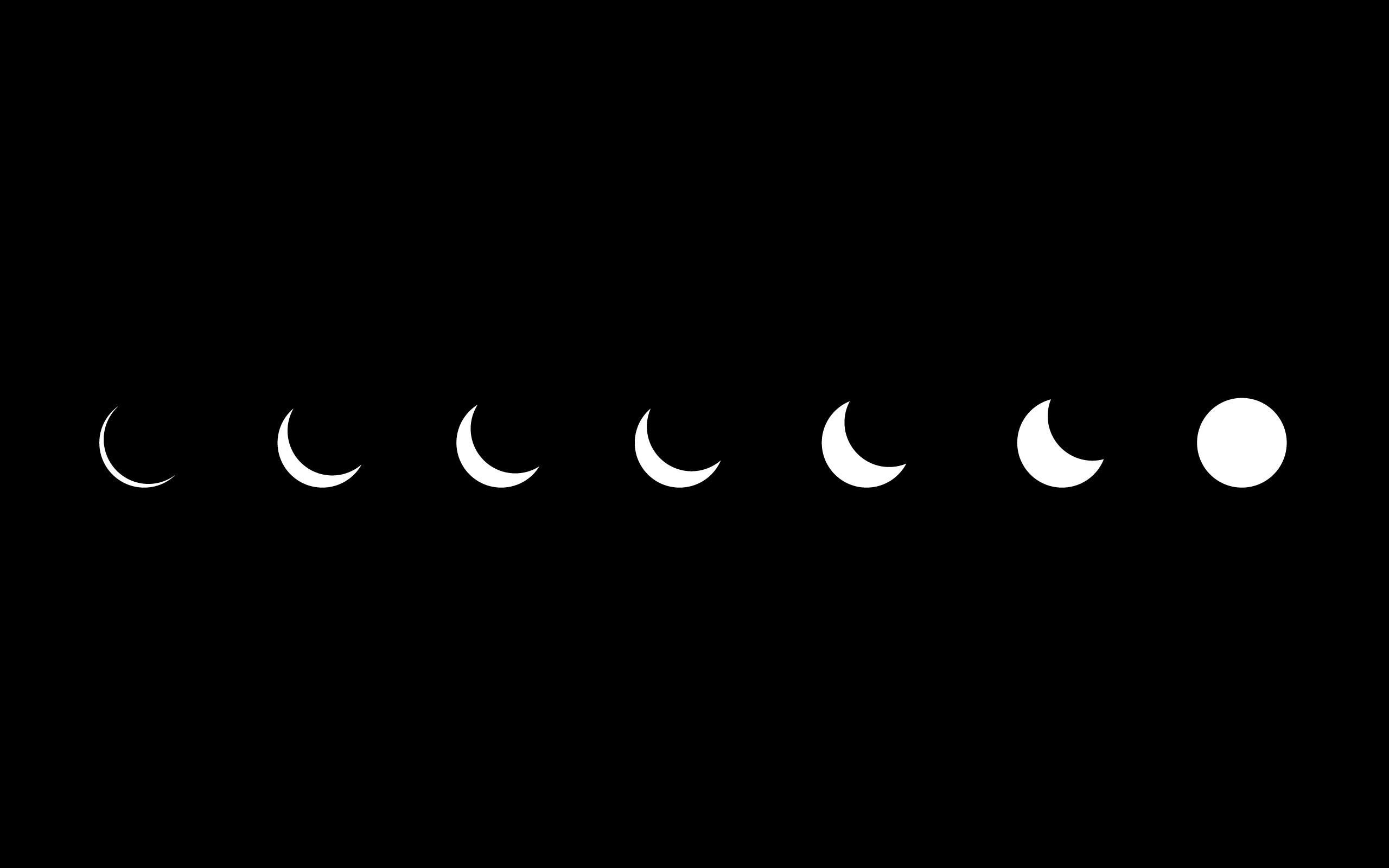 High Resolution Minimalistic Eclipse Artwork Simple HD Wallpaper