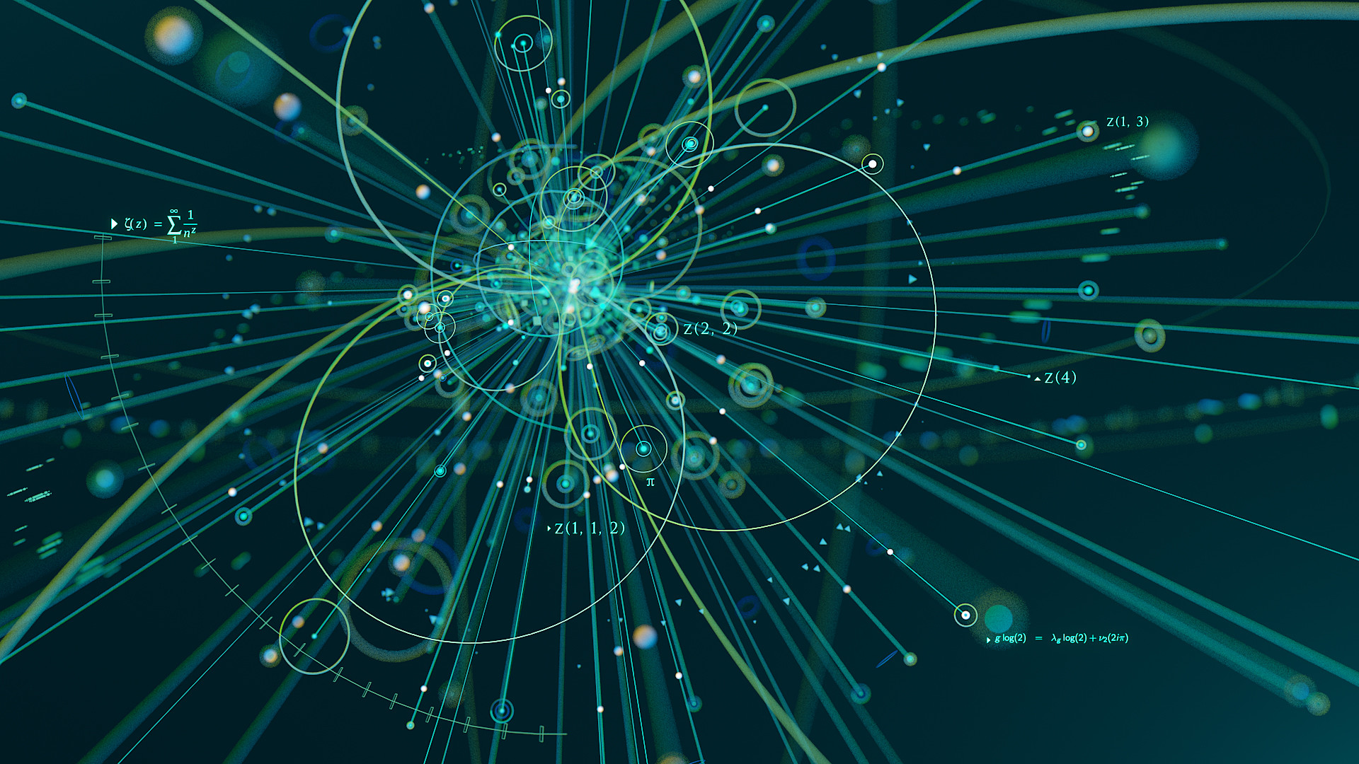 """Particle collisions are somehow linked to mathematical """"motives."""""""