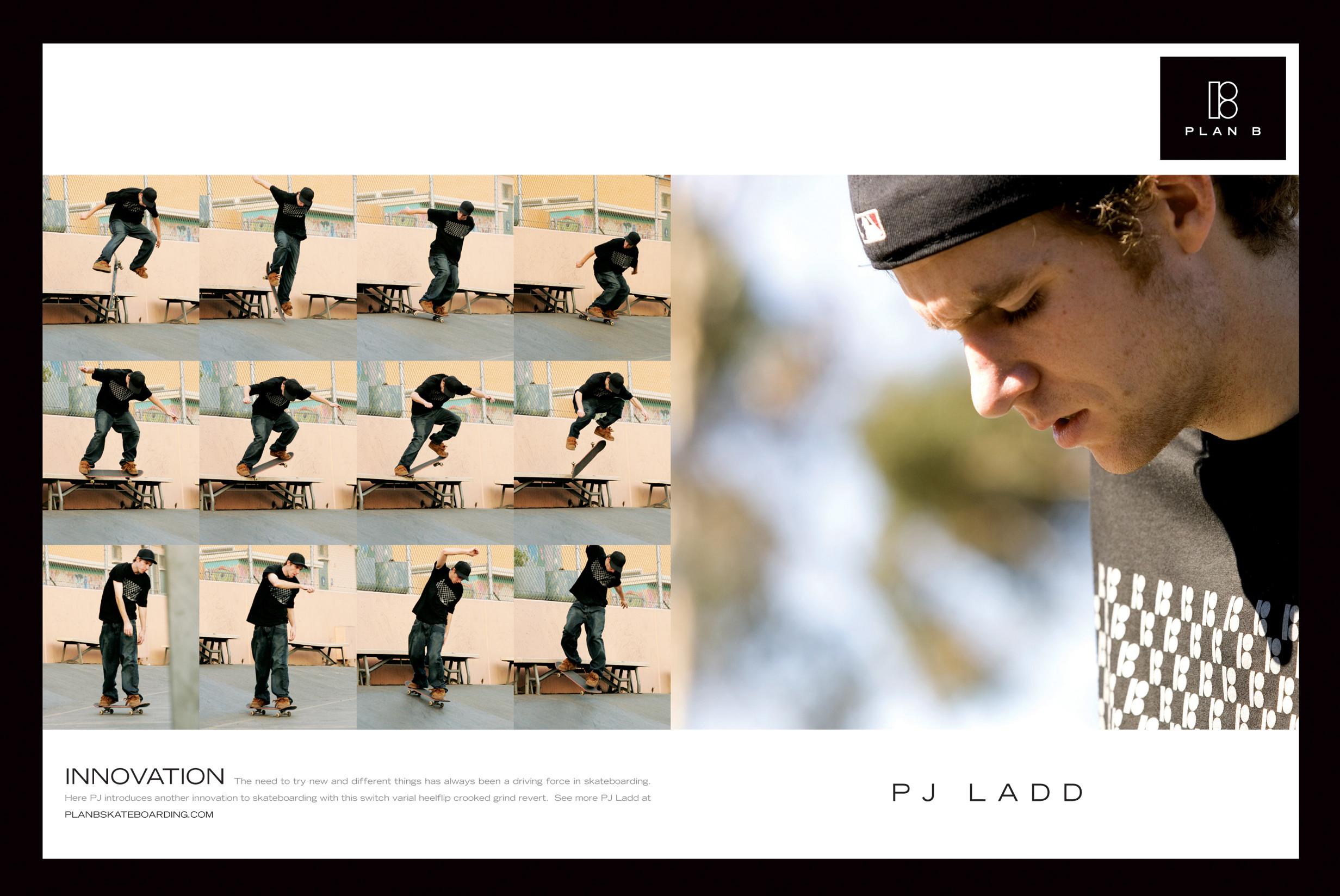 PJ Ladd Plan B Skateboarding Wallpaper