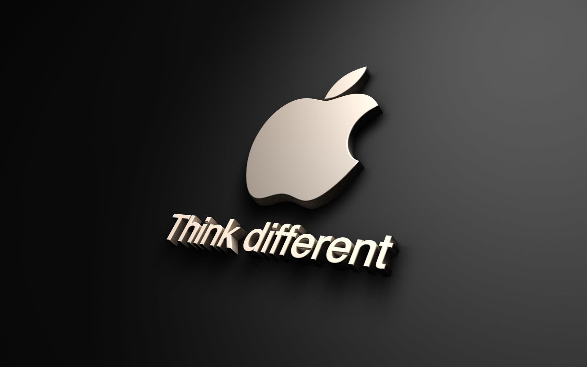 Apple Logo Wallpaper .