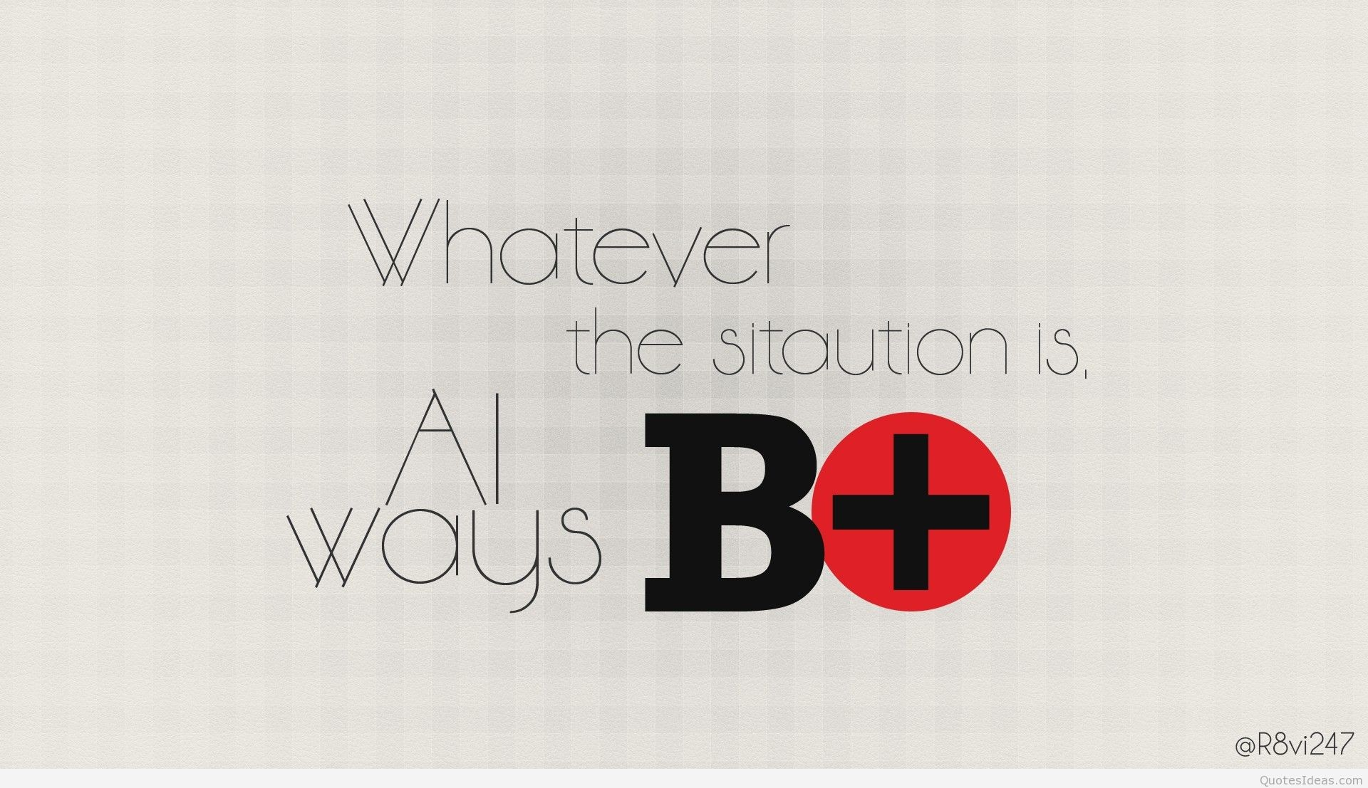 Solution quote wallpaper Plan B