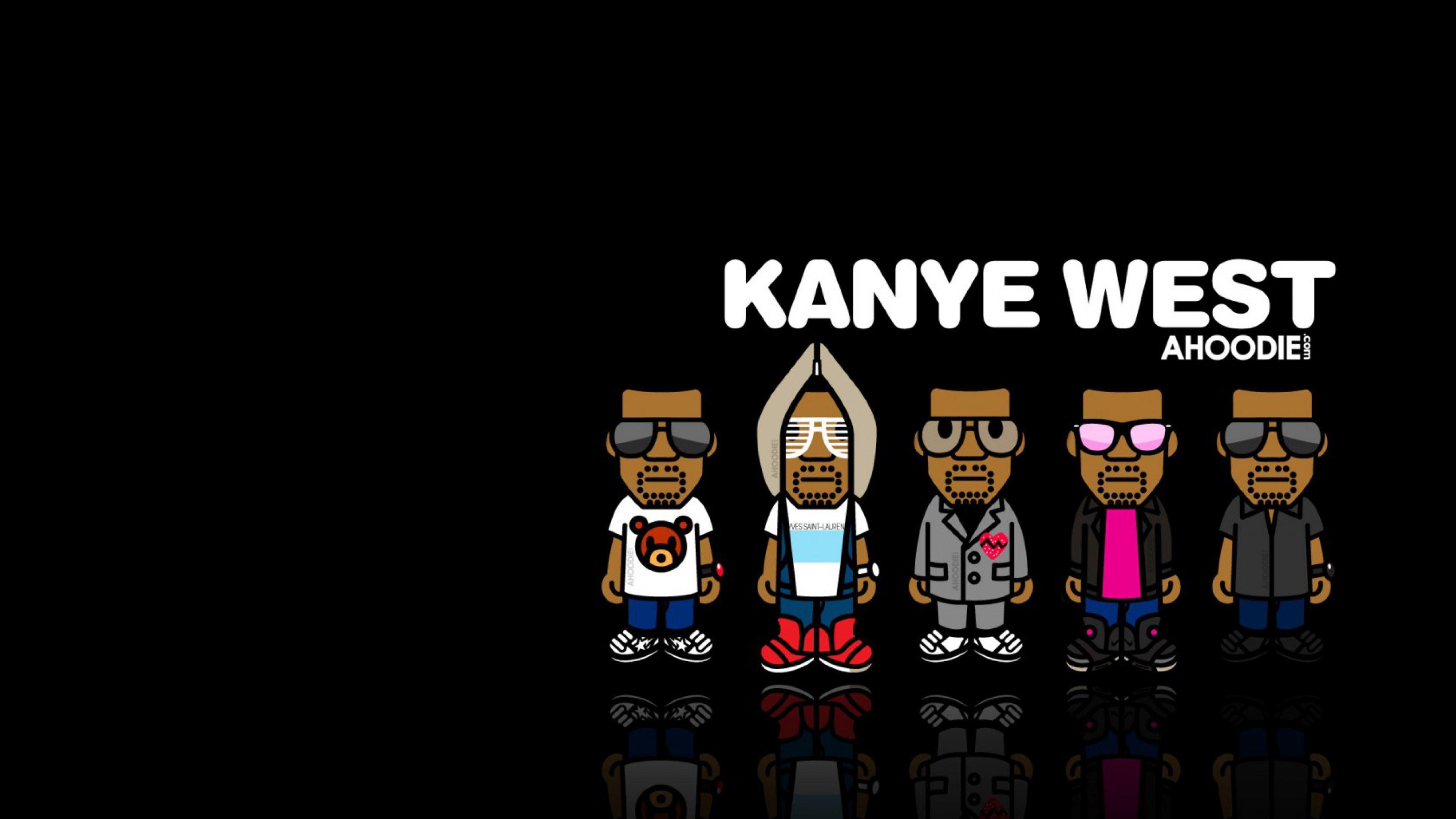 Download Wallpaper Kanye west, Music, Image, Hip-hop 4K .