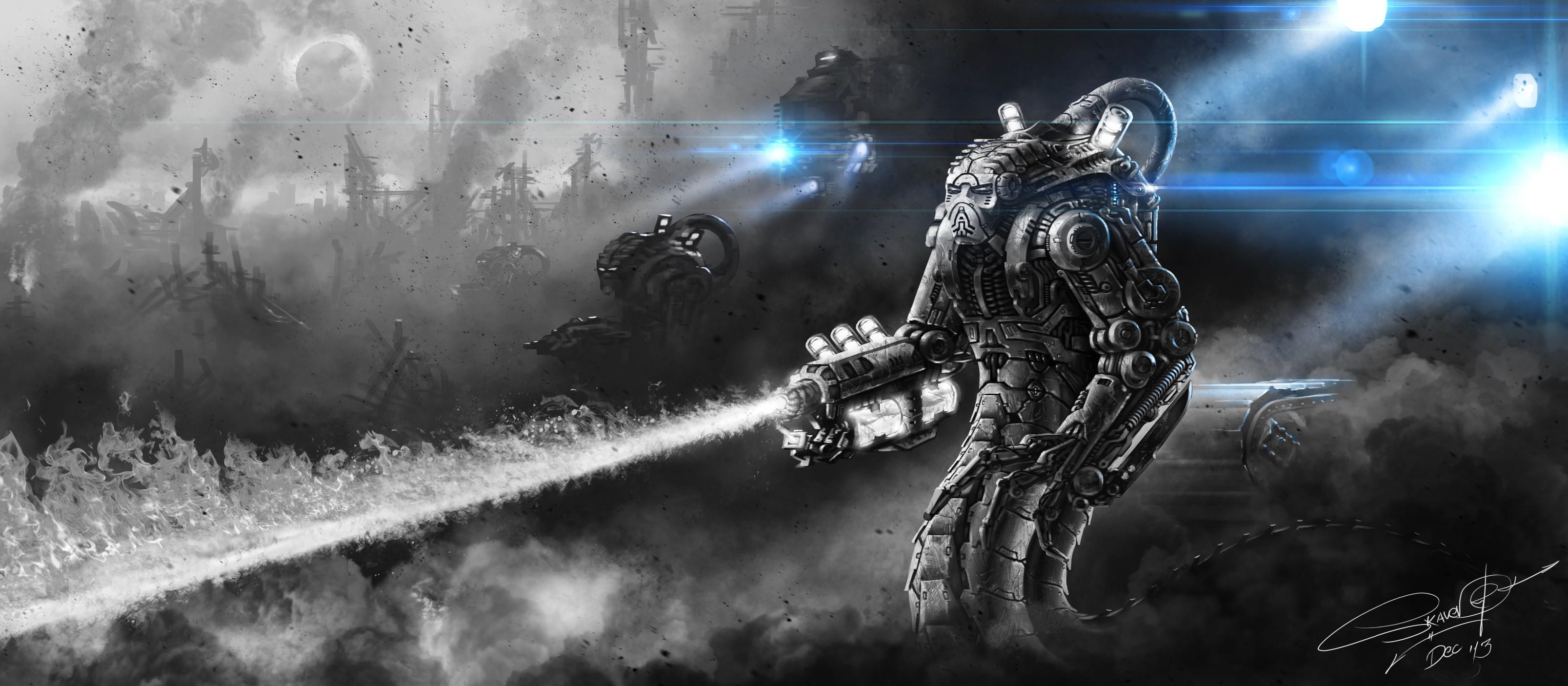 cyborg robot cool war wallpapers – photo #11