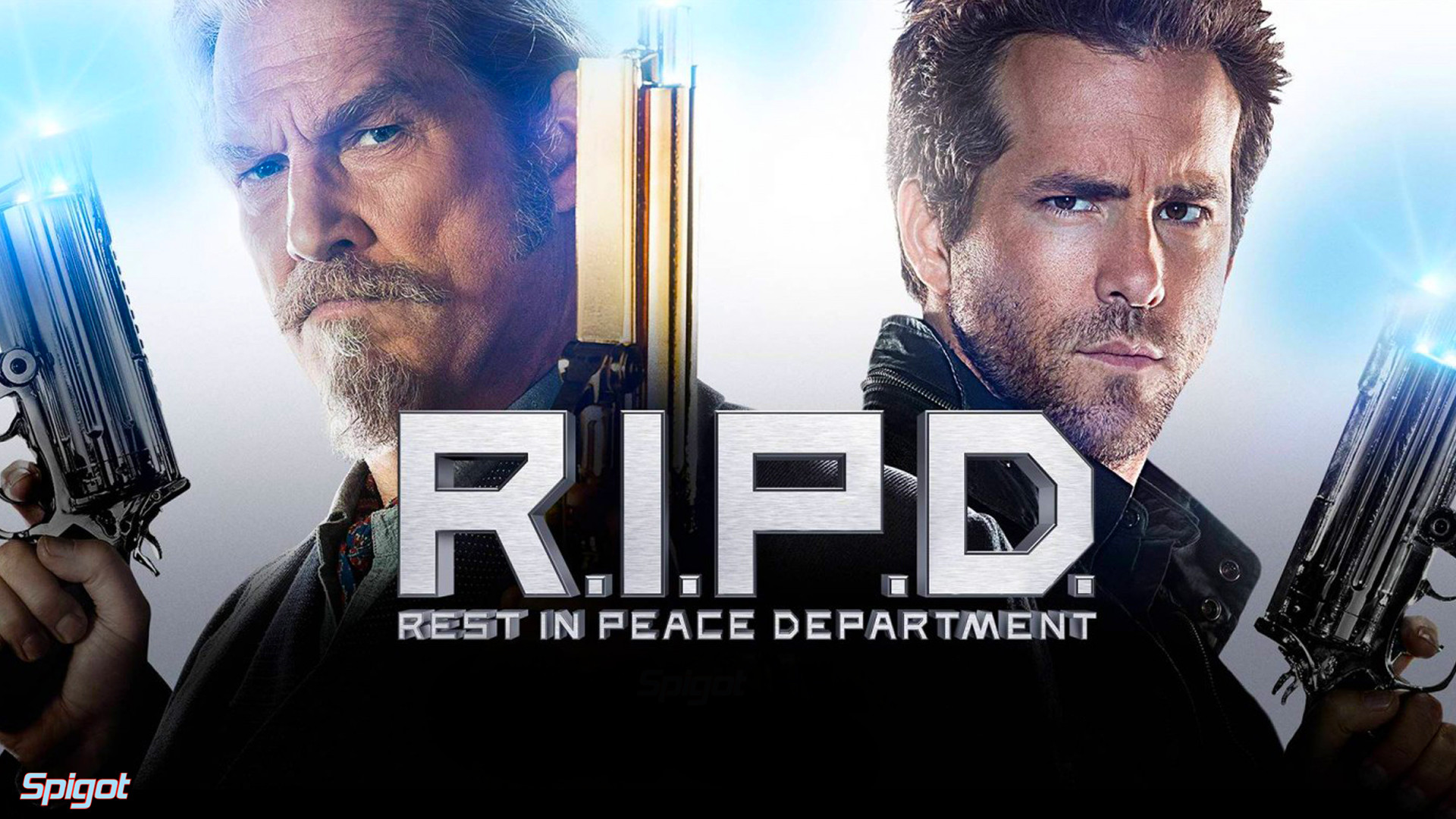 Here's a couple of wallpapers of the upcoming supernatural film based on  the comic book Rest In Peace Department. Staring one of my favorite actors  Jeff …