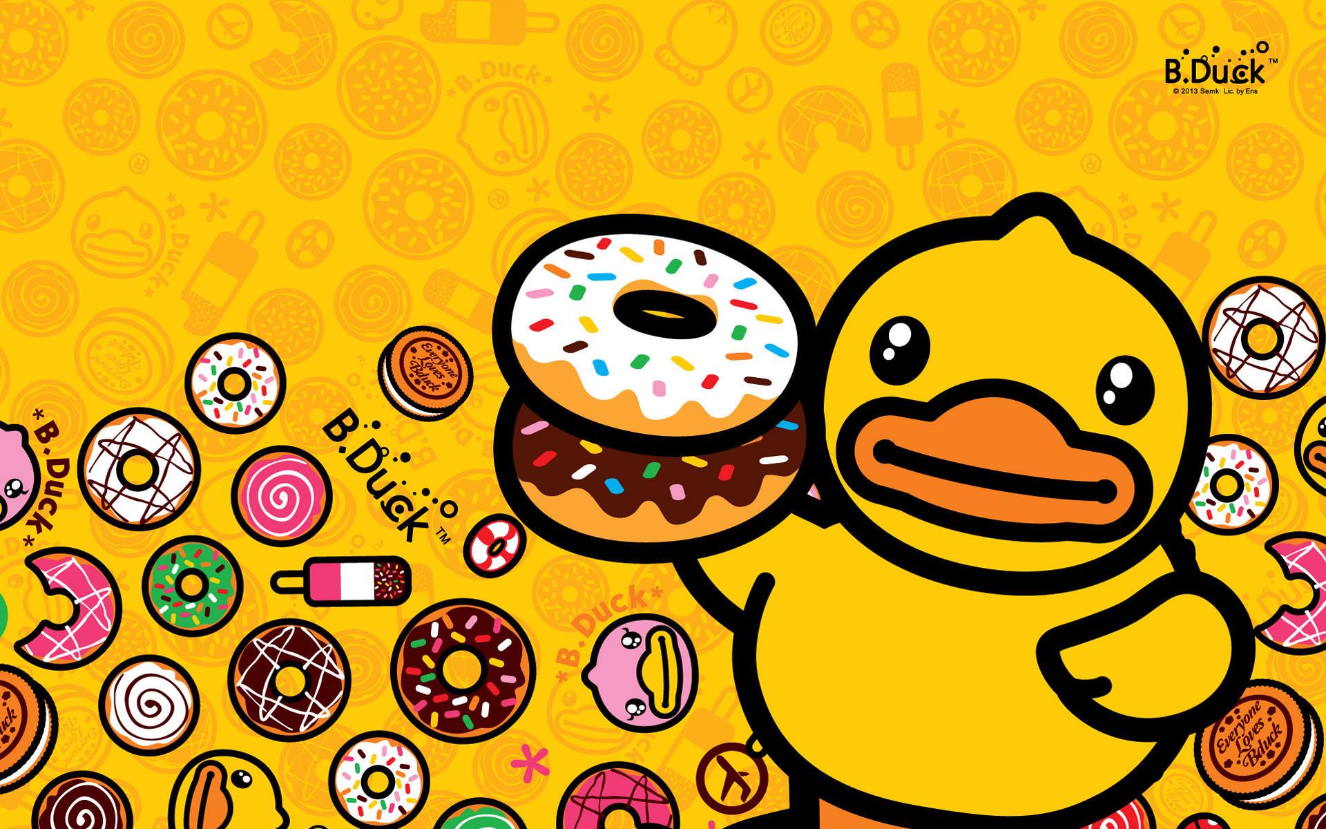 B DUCK B Duck Wallpaper