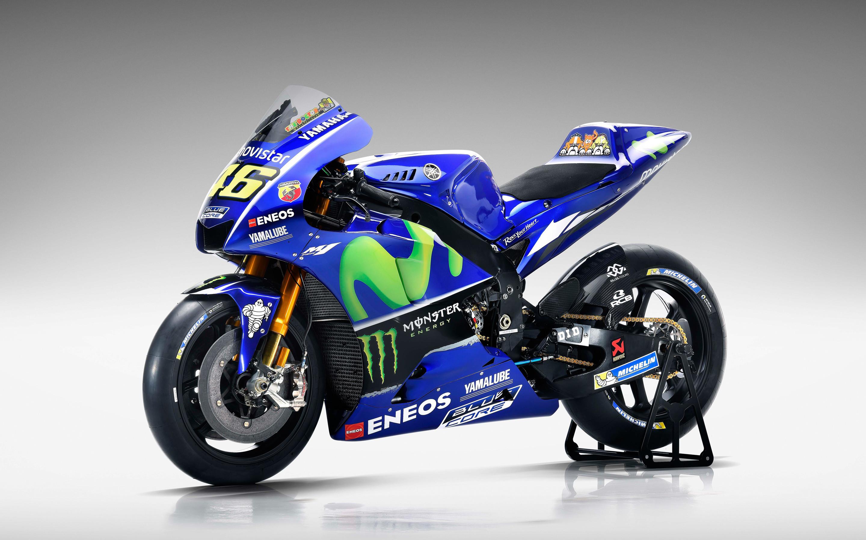 2017 Movistar Yamaha YZR M1 MotoGP 4K 8K