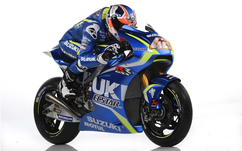 2017 Suzuki MotoGP Bike 4K