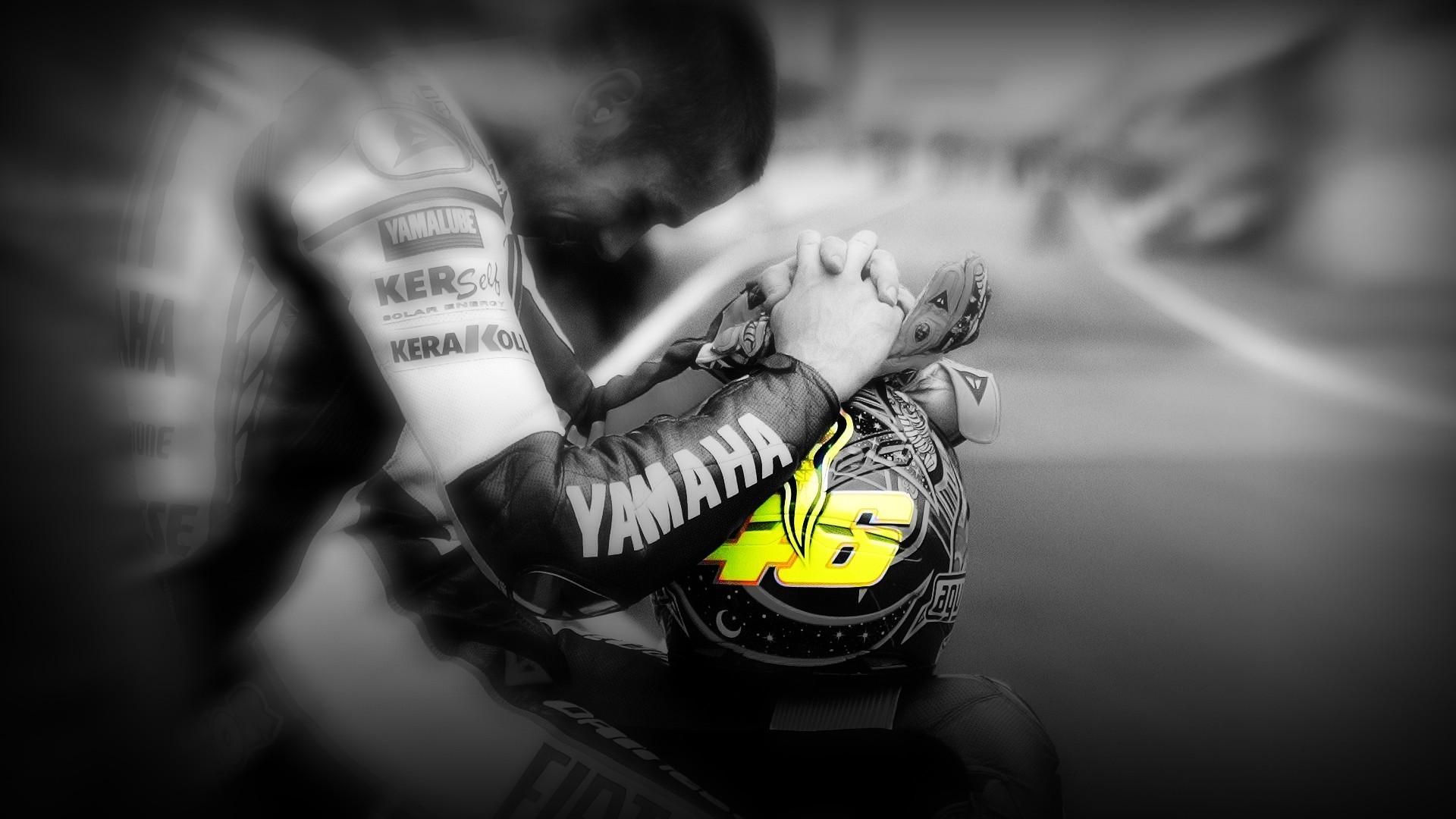 Prayer Of Valentino Rossi MotoGP Sport Wallpaper HD