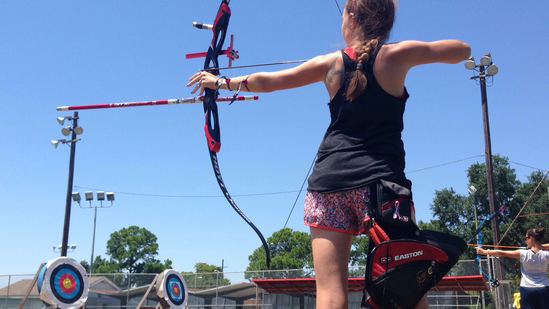 My past two and a half years with archery. From a kids' bow to trying out  for the Olympics soon.
