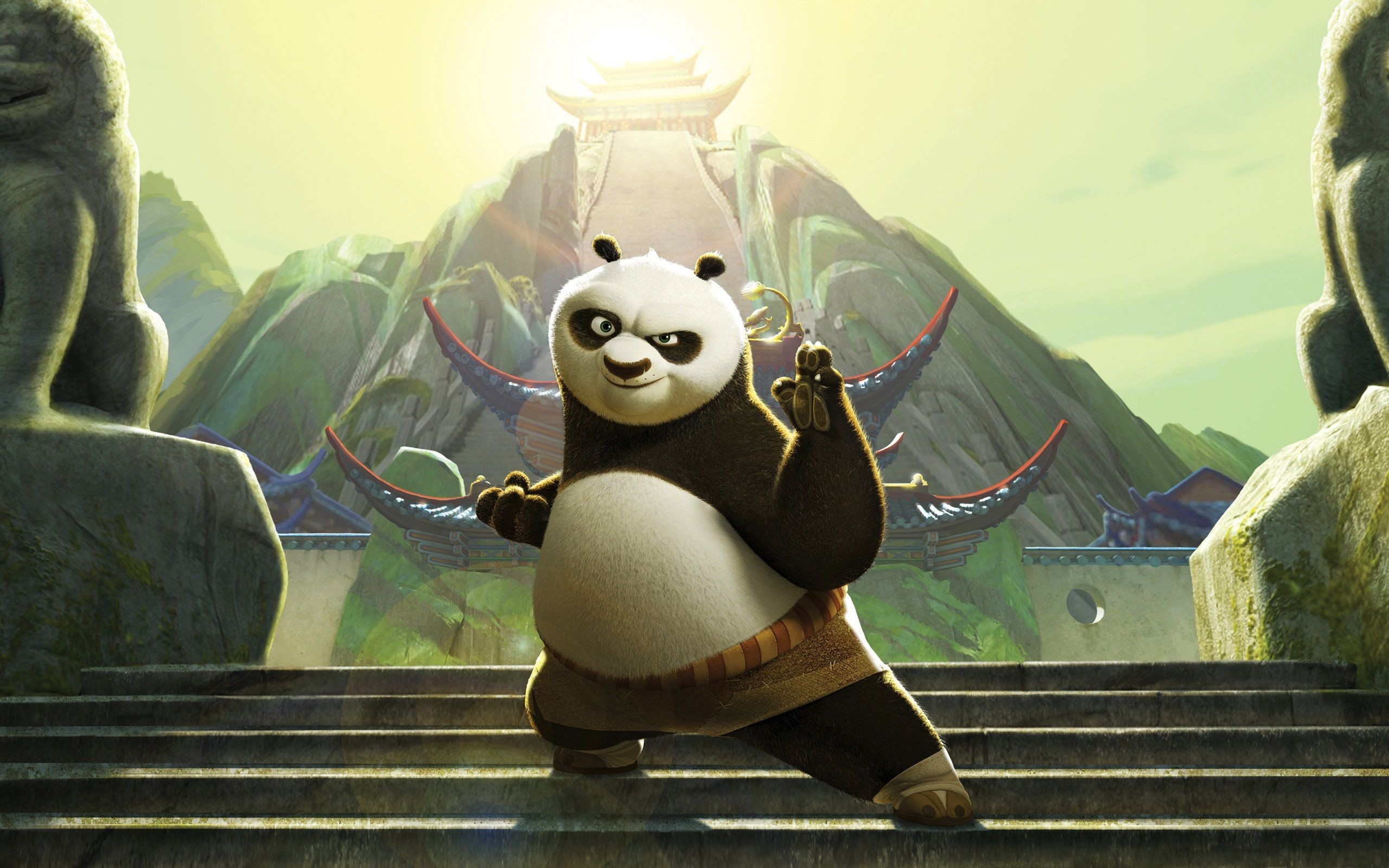 Kung Fu Panda 1 & 2 HD Movie Wallpapers – Page 1