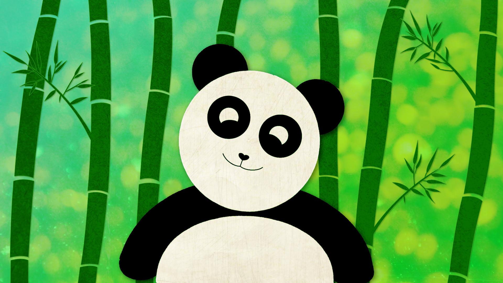 Cute Panda Wallpaper I made …
