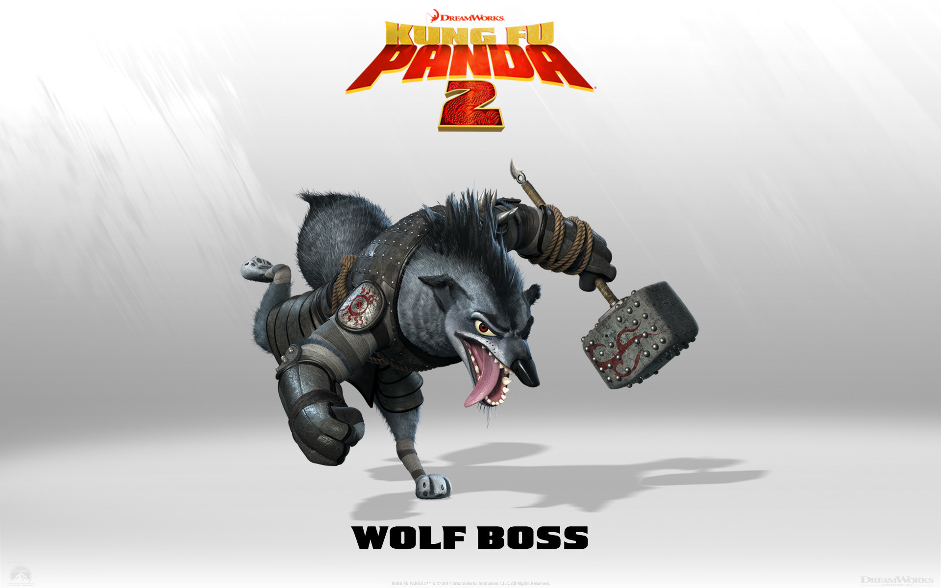 Wolf Boss from Kung Fu Panda 2 Movie wallpaper – Click picture for high  resolution HD wallpaper