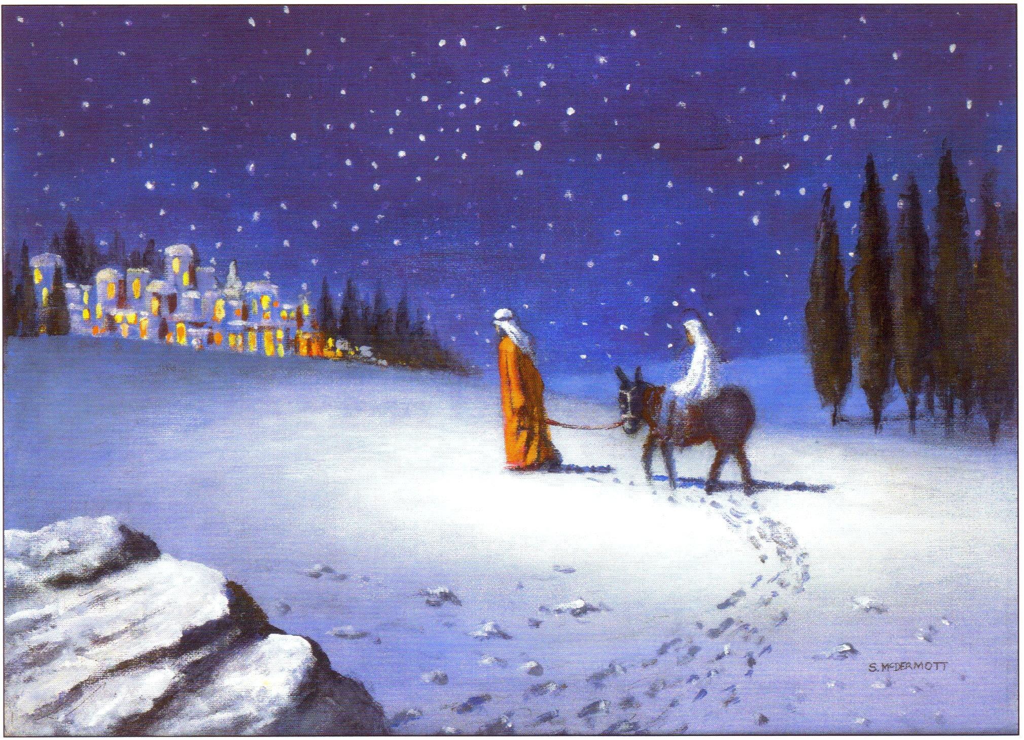 Religious Christmas Wallpaper