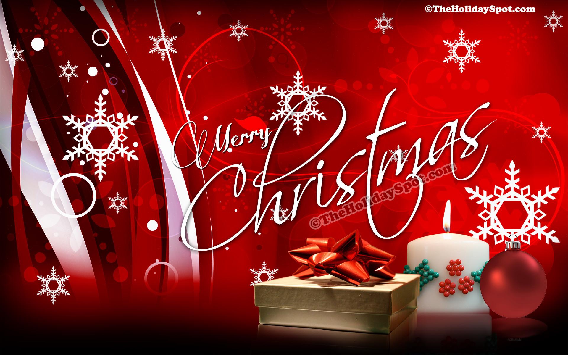 HD Christmas Desktop Illustration